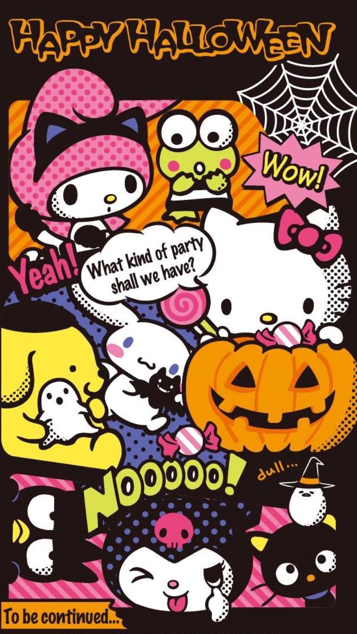 Ipad Kawaii Halloween Wallpapers Wallpaper Cave