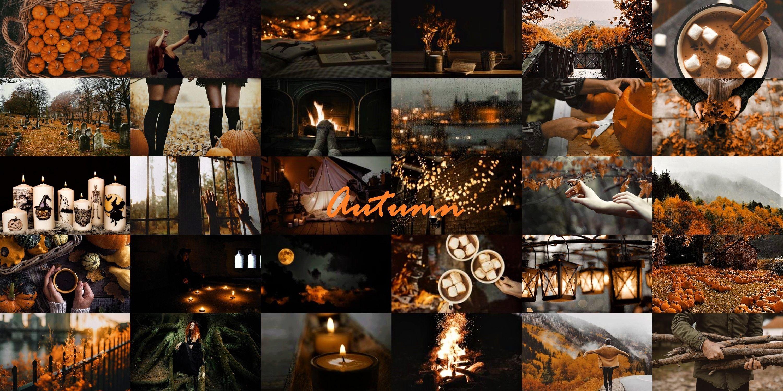 Halloween Collage Desktop Wallpapers Wallpaper Cave