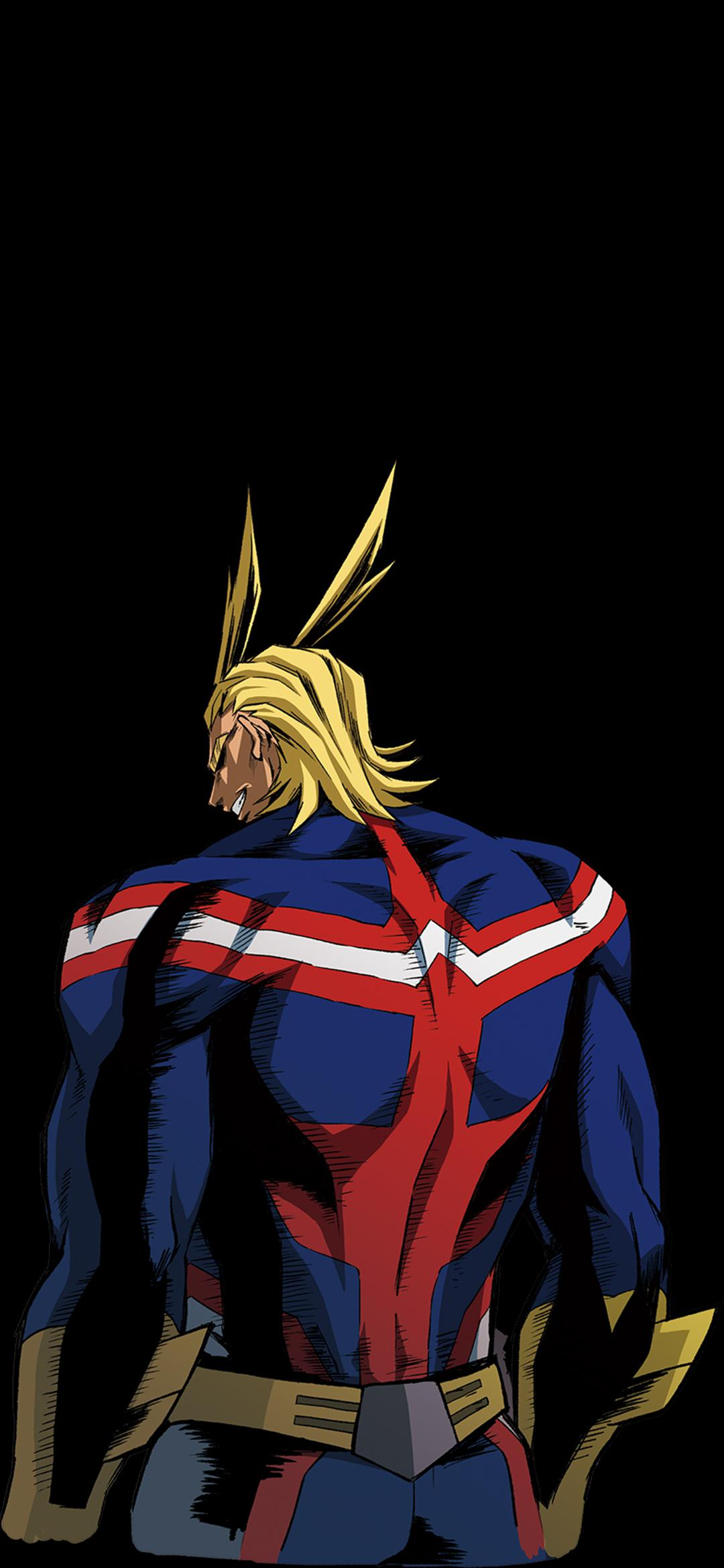 All Might Phone Wallpapers AMOLED : BokuNoHeroAcademia