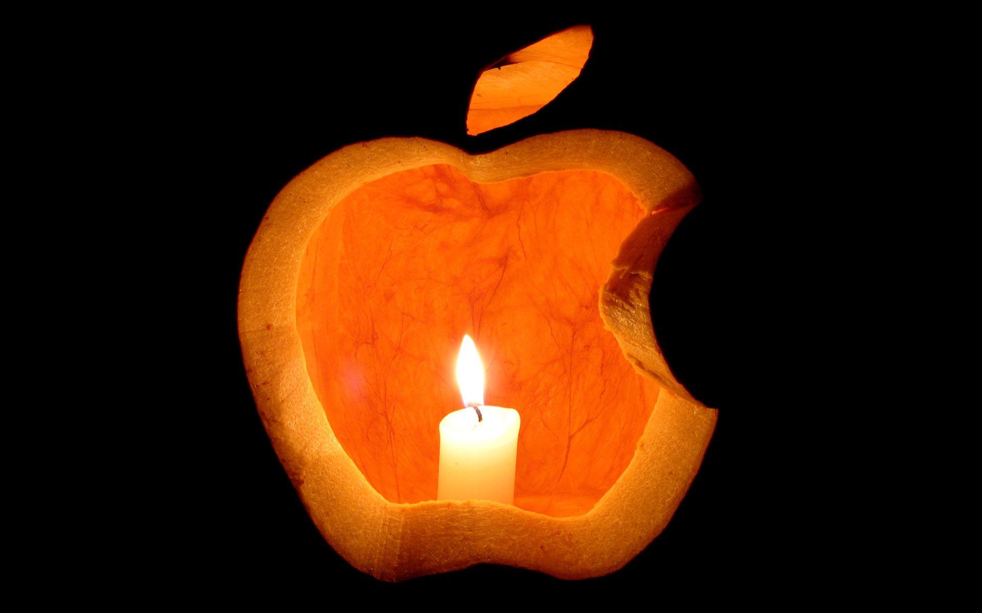 Halloween Apple Wallpapers - Wallpaper Cave