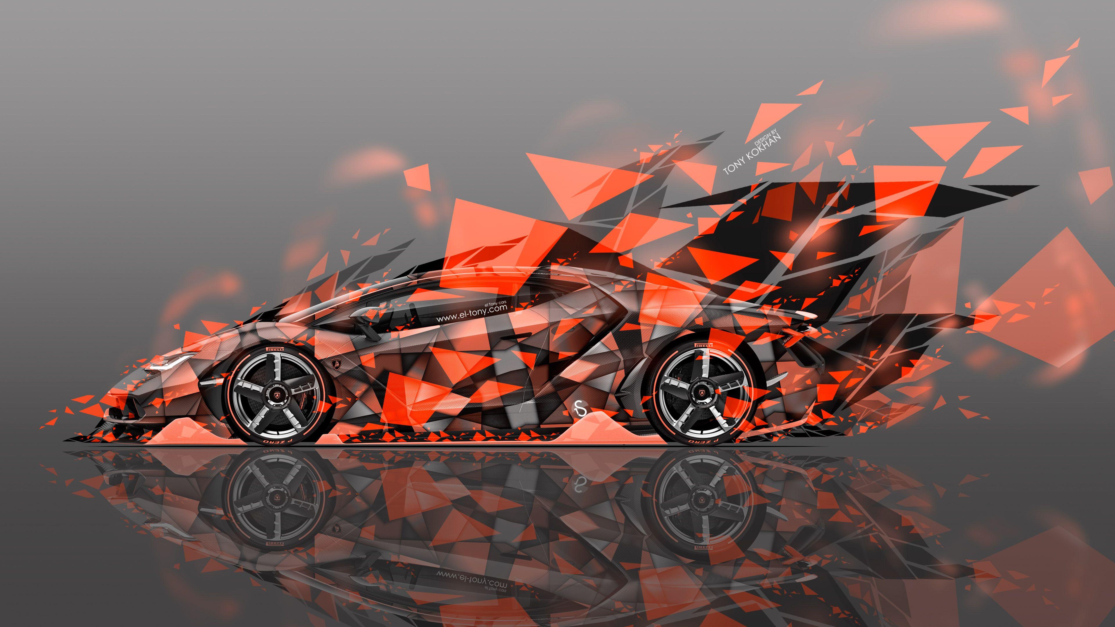 Flaming Lamborghini Wallpapers Wallpaper Cave