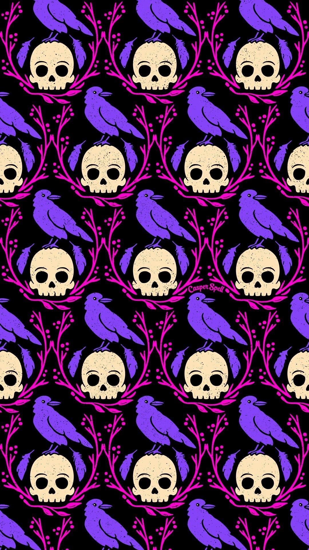 Cute Halloween Pattern Wallpapers Wallpaper Cave