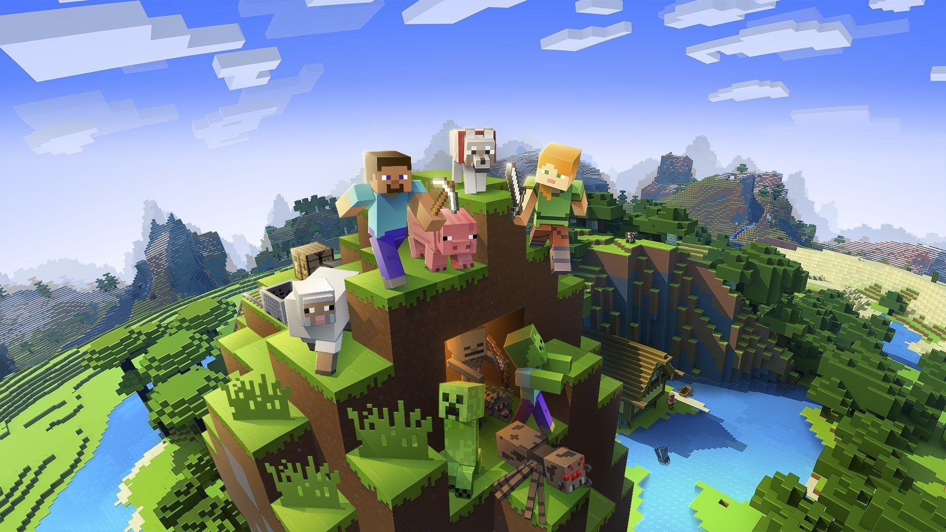 Minecraft Bedrock Wallpapers - Wallpaper Cave