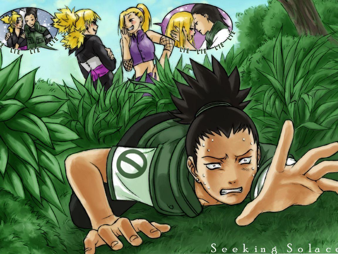 Shikamaru temari and Naruto: 10