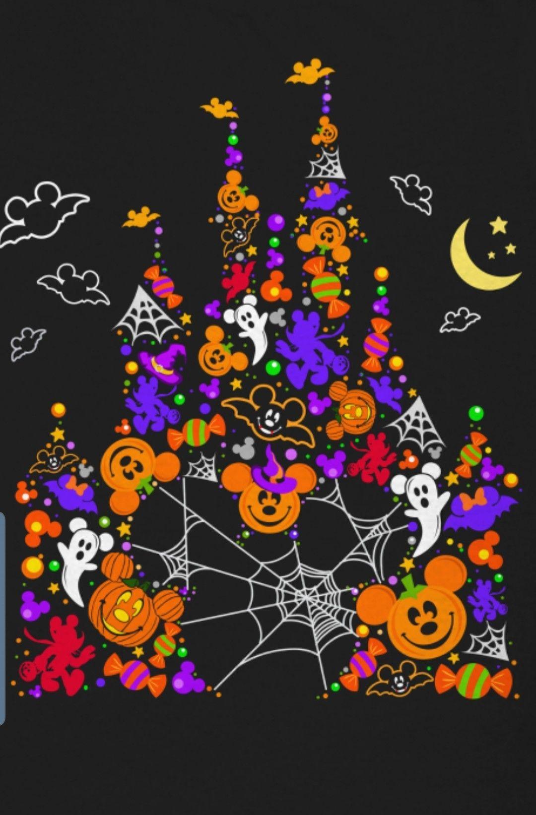 Halloween Disney Iphone Wallpapers Wallpaper Cave