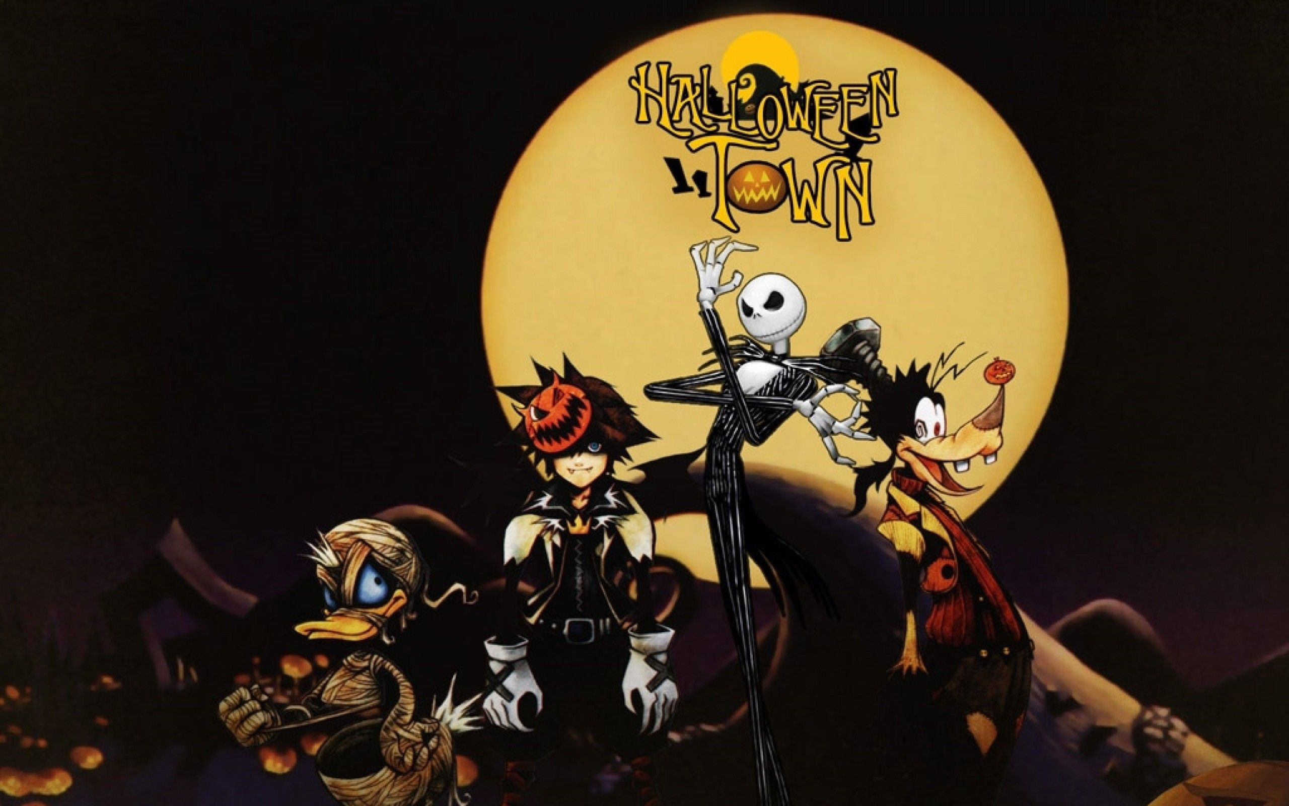 Jack Skellington Halloween Wallpapers Wallpaper Cave