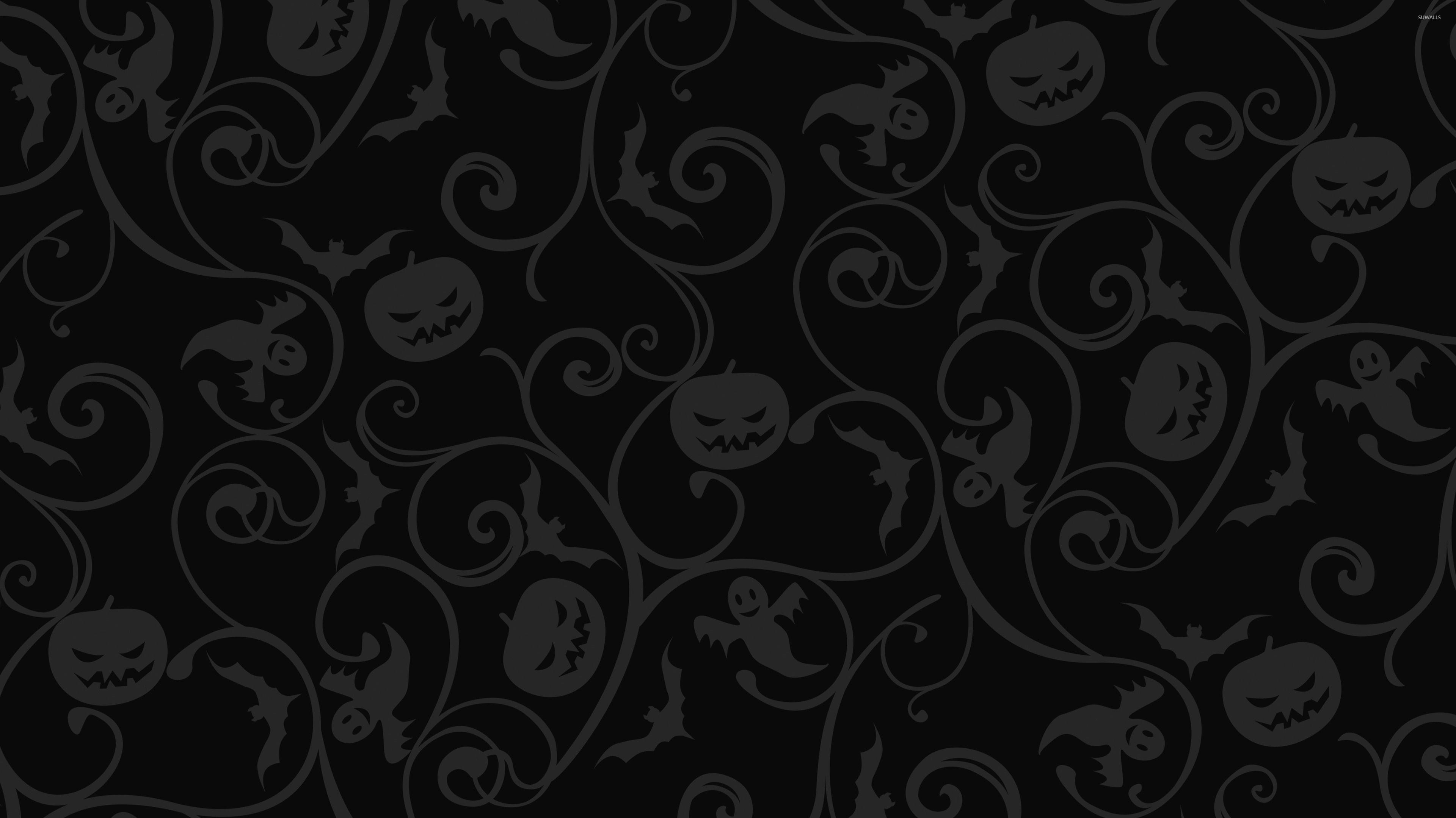 Halloween Pattern Wallpaper.Black Halloween Wallpapers Wallpaper Cave
