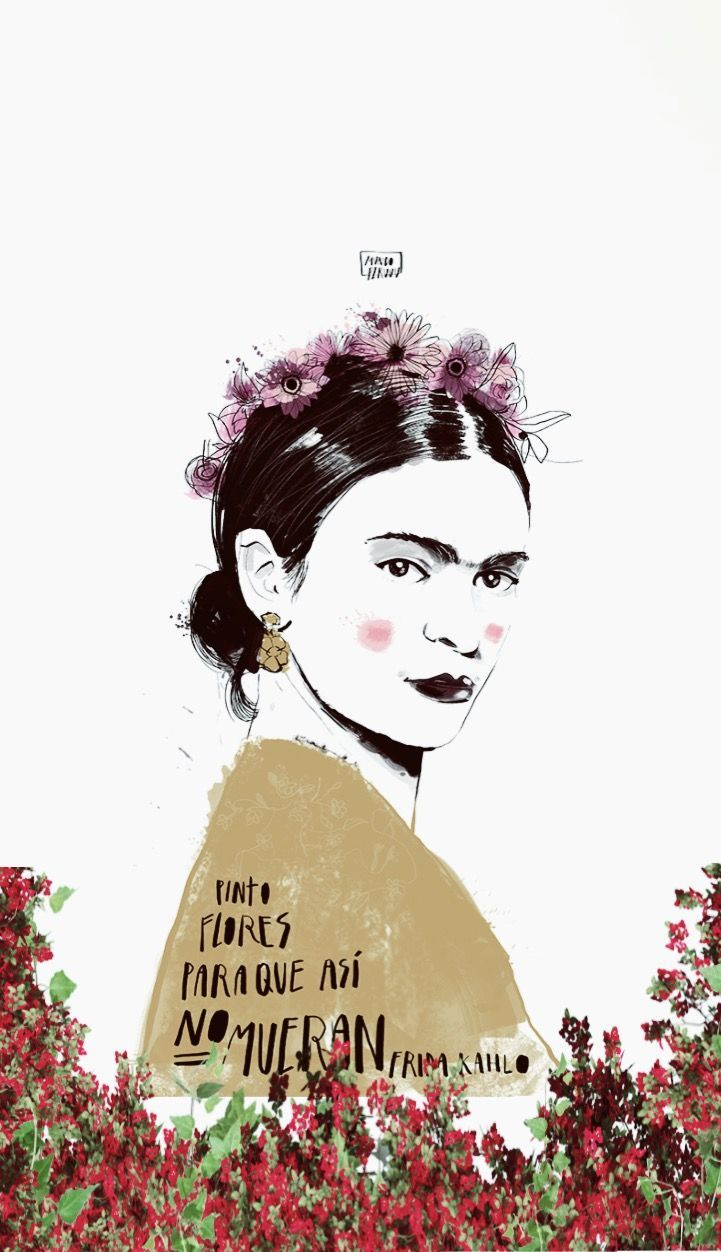 Frida Kahlo Iphone Wallpapers Wallpaper Cave