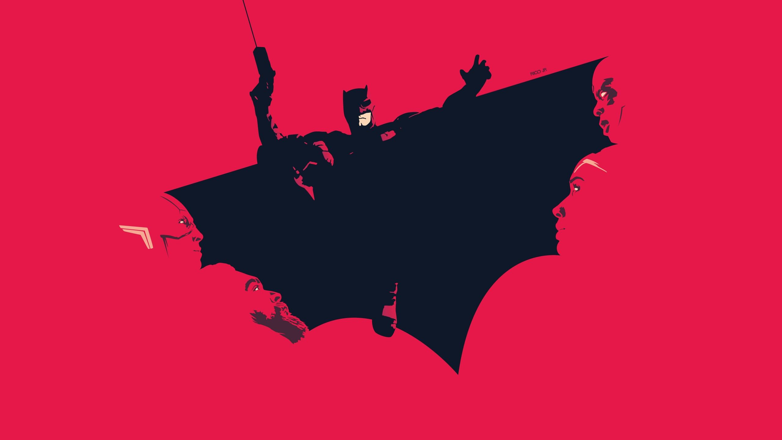 Justice League Minimalist Wallpapers - Wallpaper Cave
