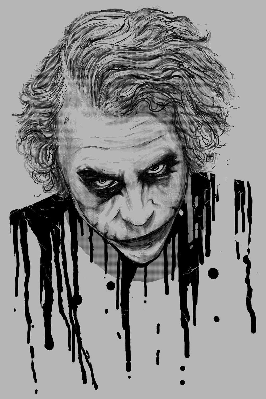 Joker Sketch Wallpapers - Wallpaper Cave