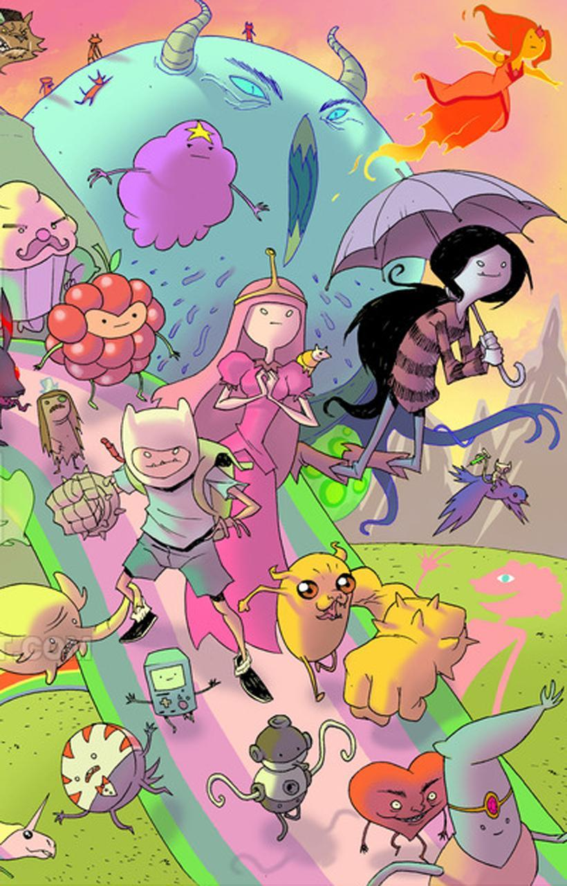 Adventure Time Phone Android Wallpapers - Wallpaper Cave