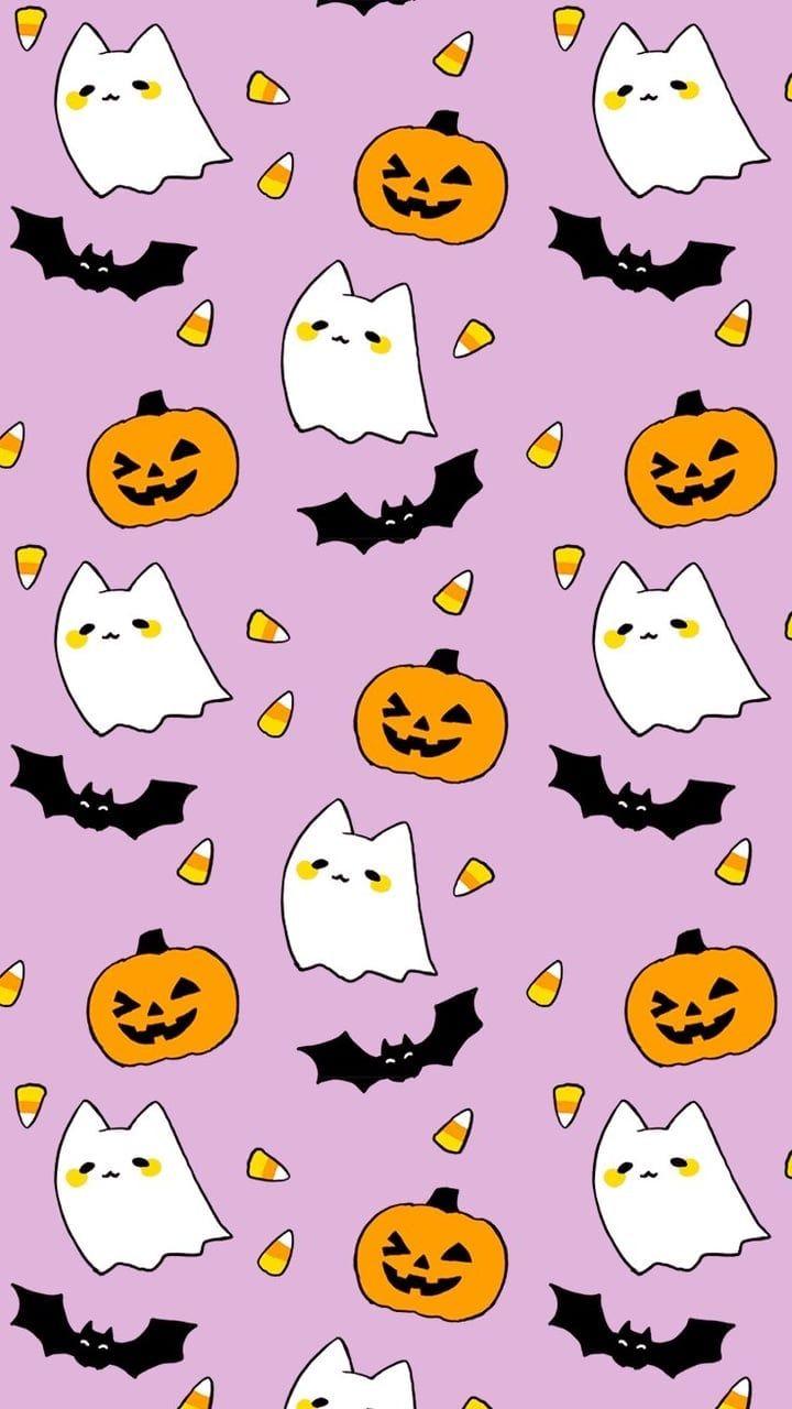 Halloween Kawaii Wallpapers - Wallpaper Cave