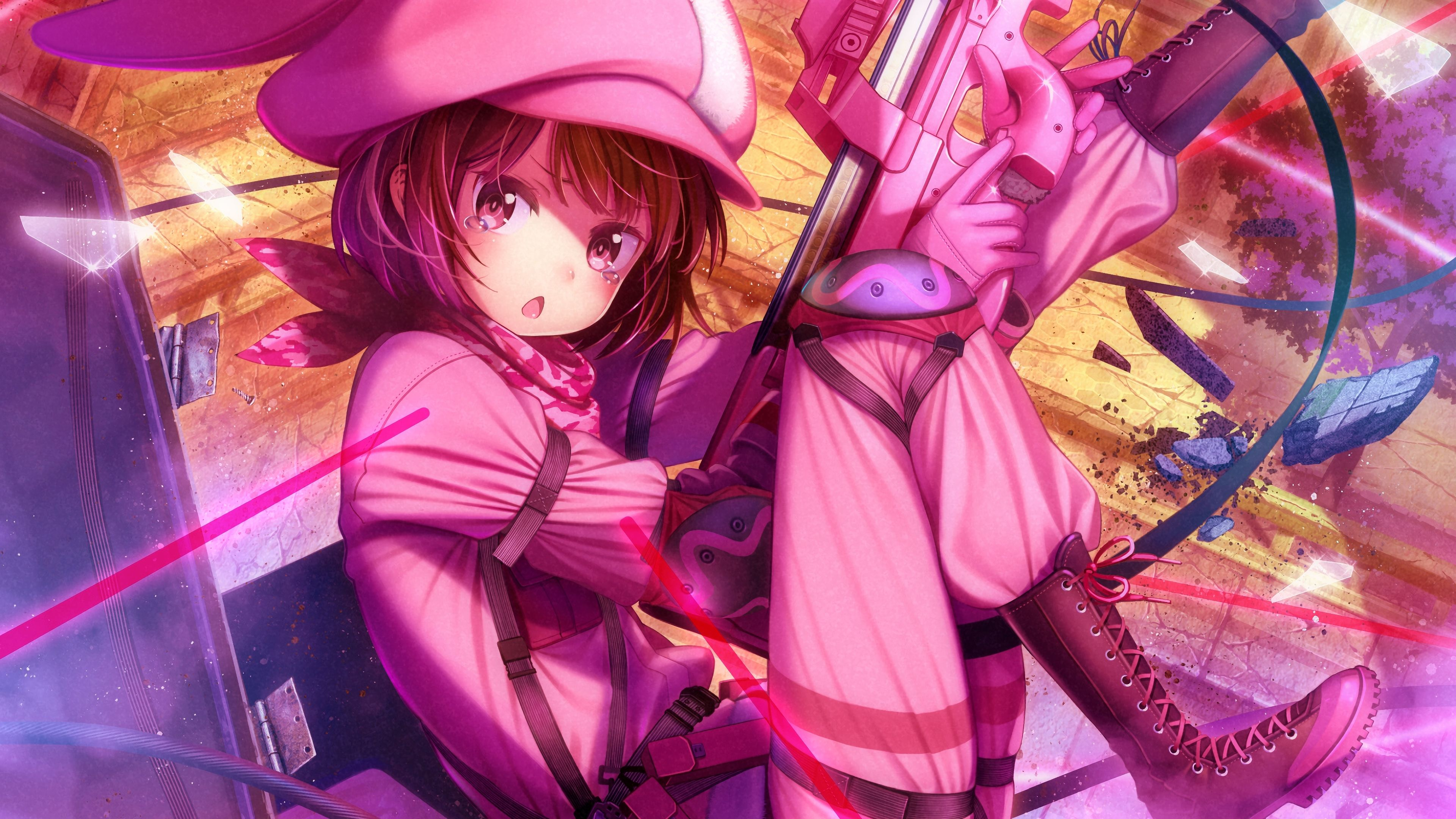 SAO Alternative Gun Gale Online wallpaper 13