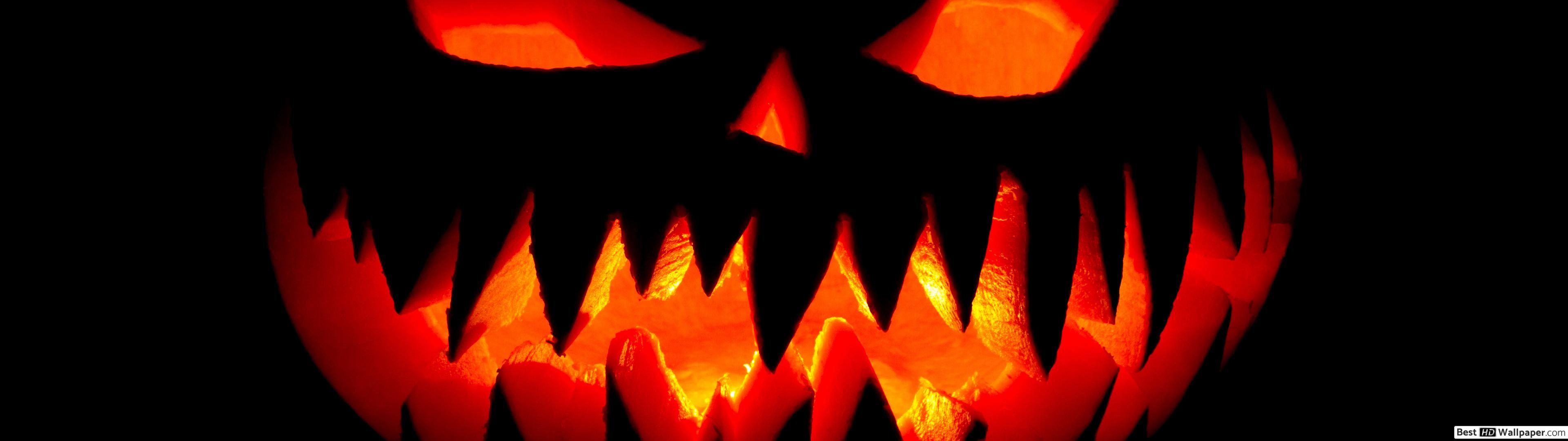 Halloween Dual Monitor Wallpapers Wallpaper Cave