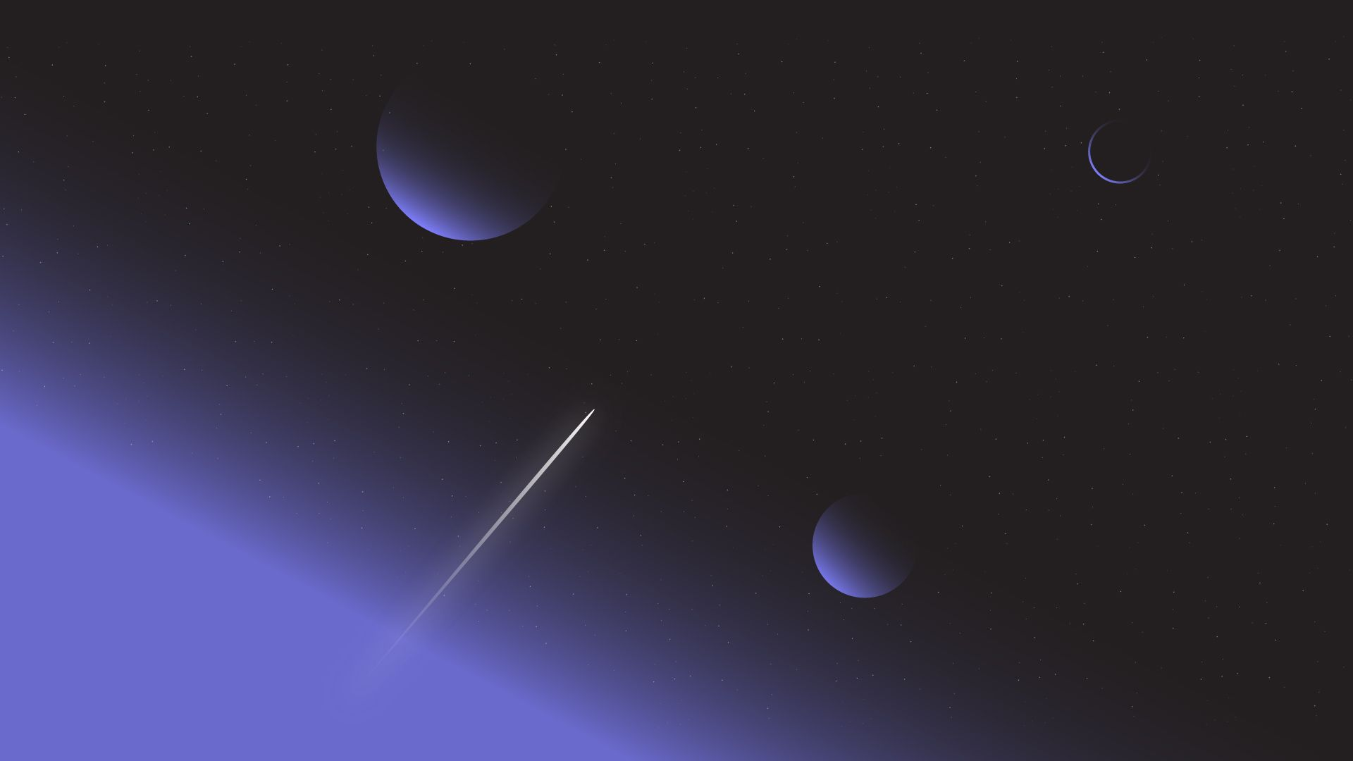 Space Minimalist Wallpapers - Wallpaper Cave