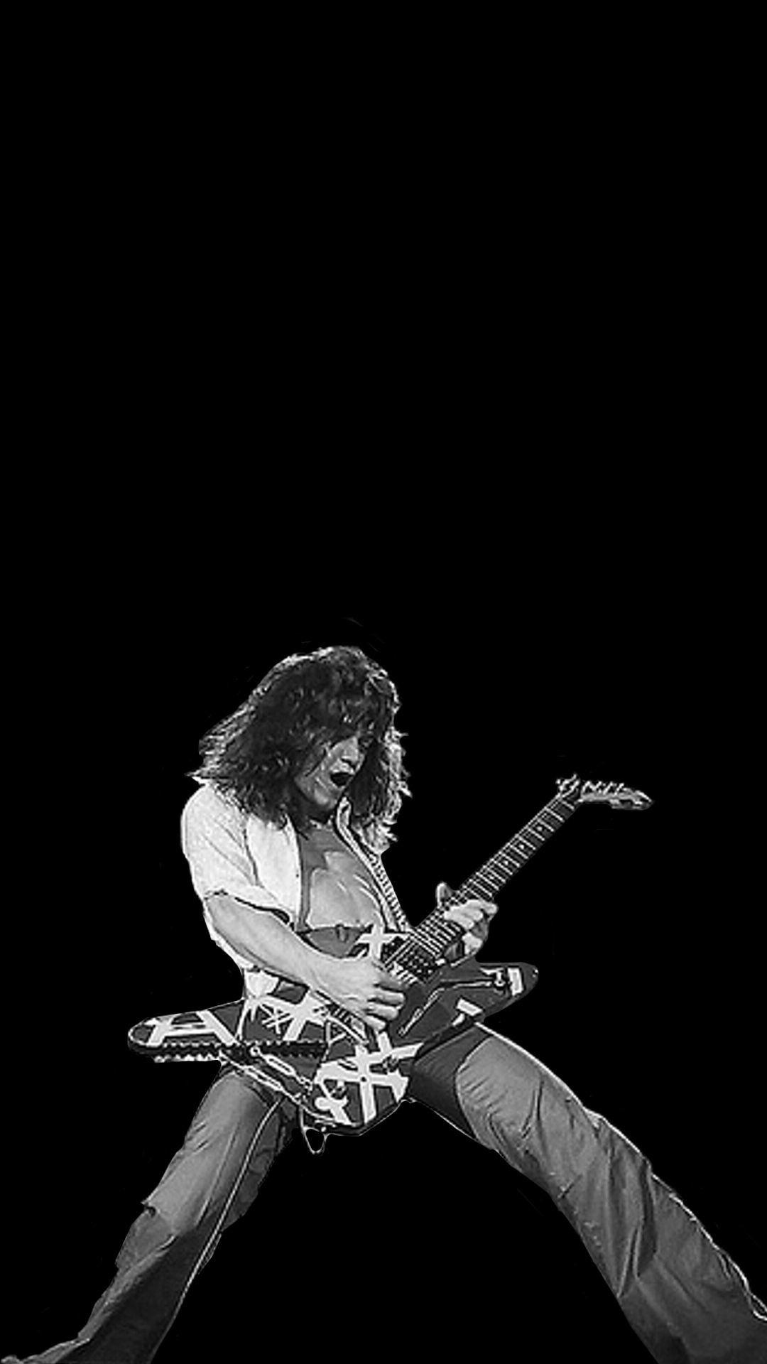 Eddie Van Halen Hd Wallpapers Wallpaper Cave