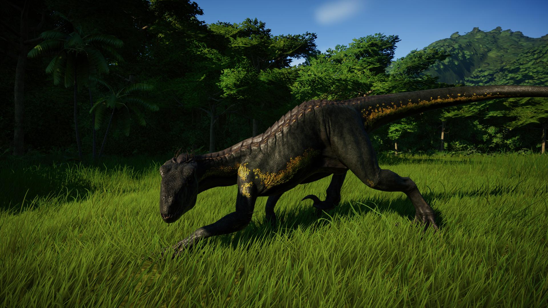Jurassic World Evolution Indoraptor Wallpapers - Wallpaper ...