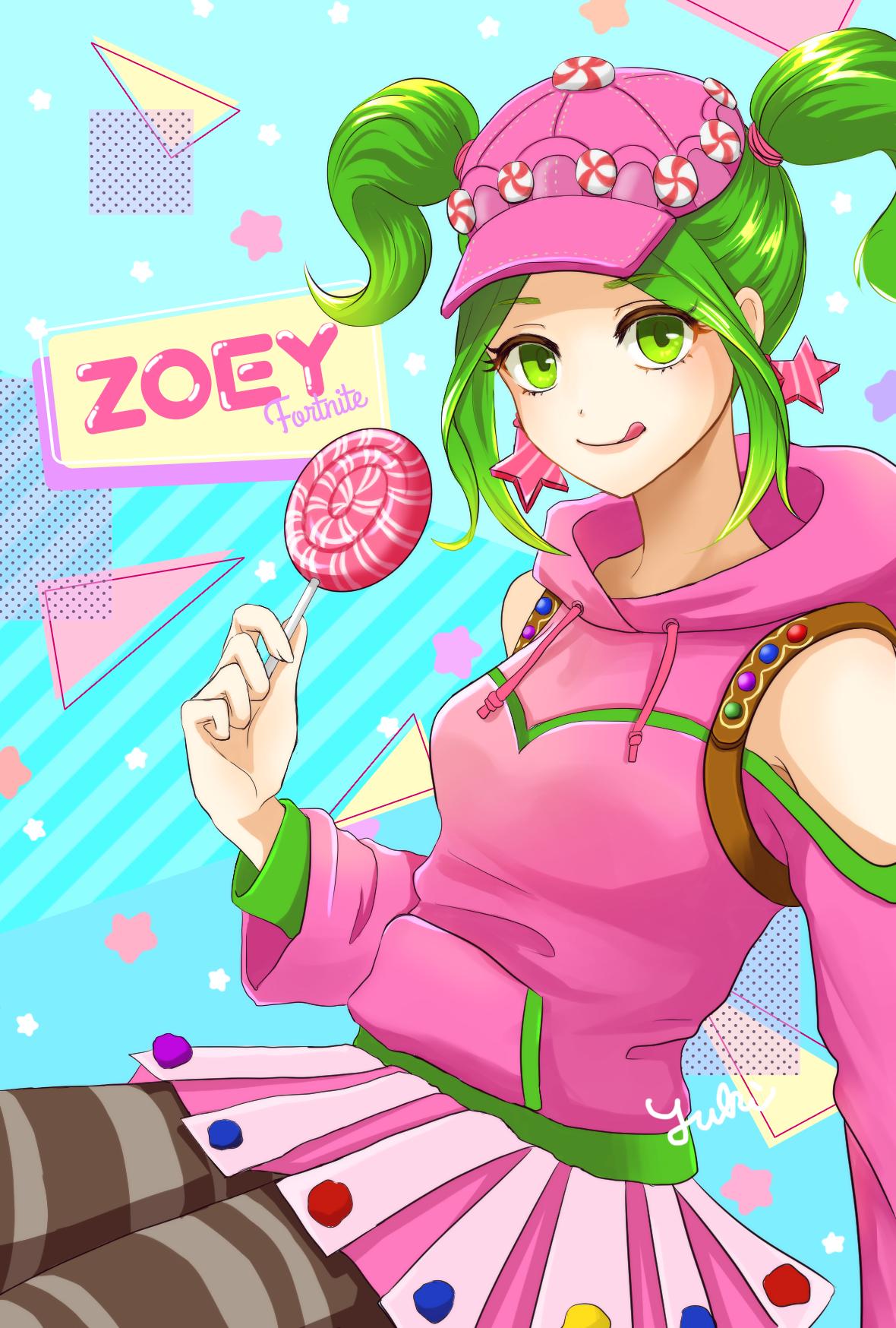 Fortnite Zoey Art