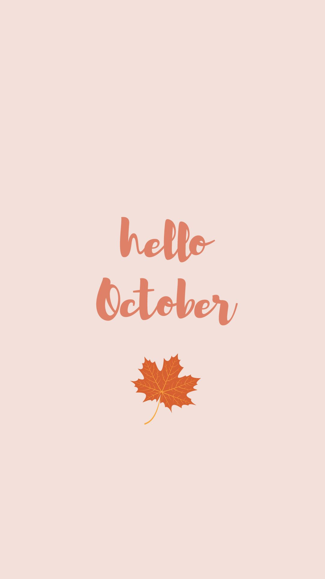 October Aesthetic Wallpapers Wallpaper Cave