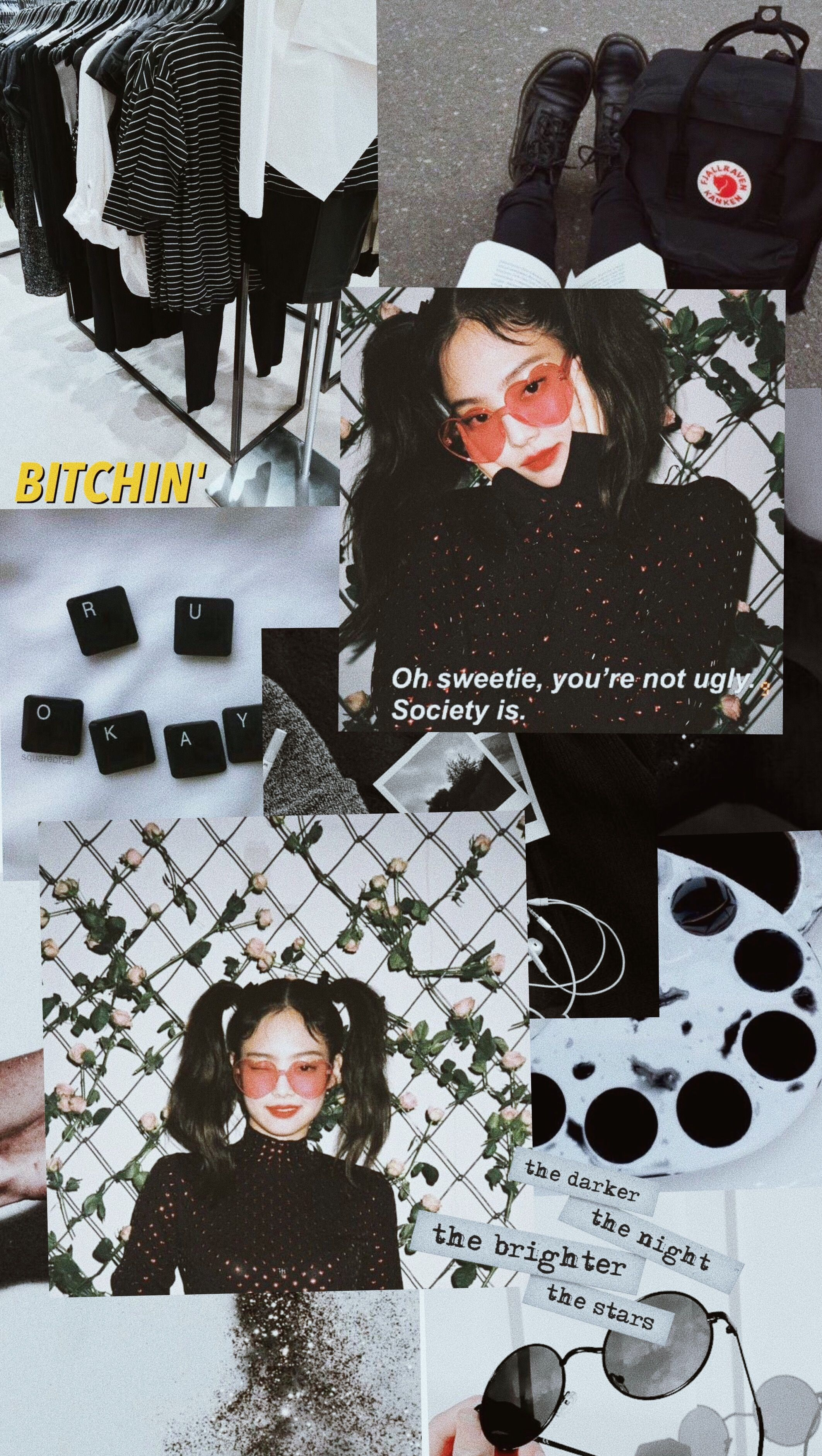 jennie aesthetic wallpapers