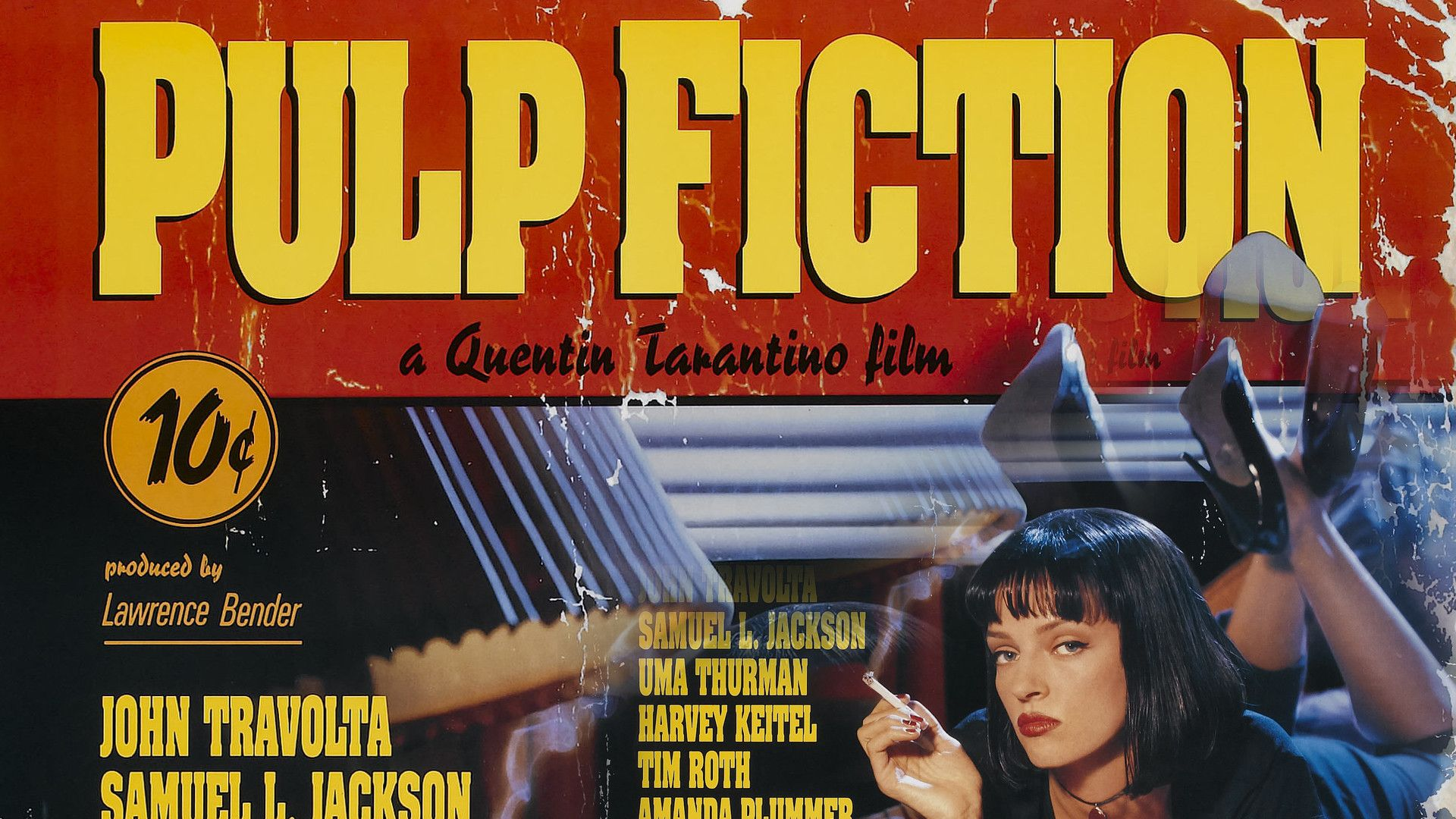 Pulp Fiction Movie Poster Wallpapers   Wallpaper Cave