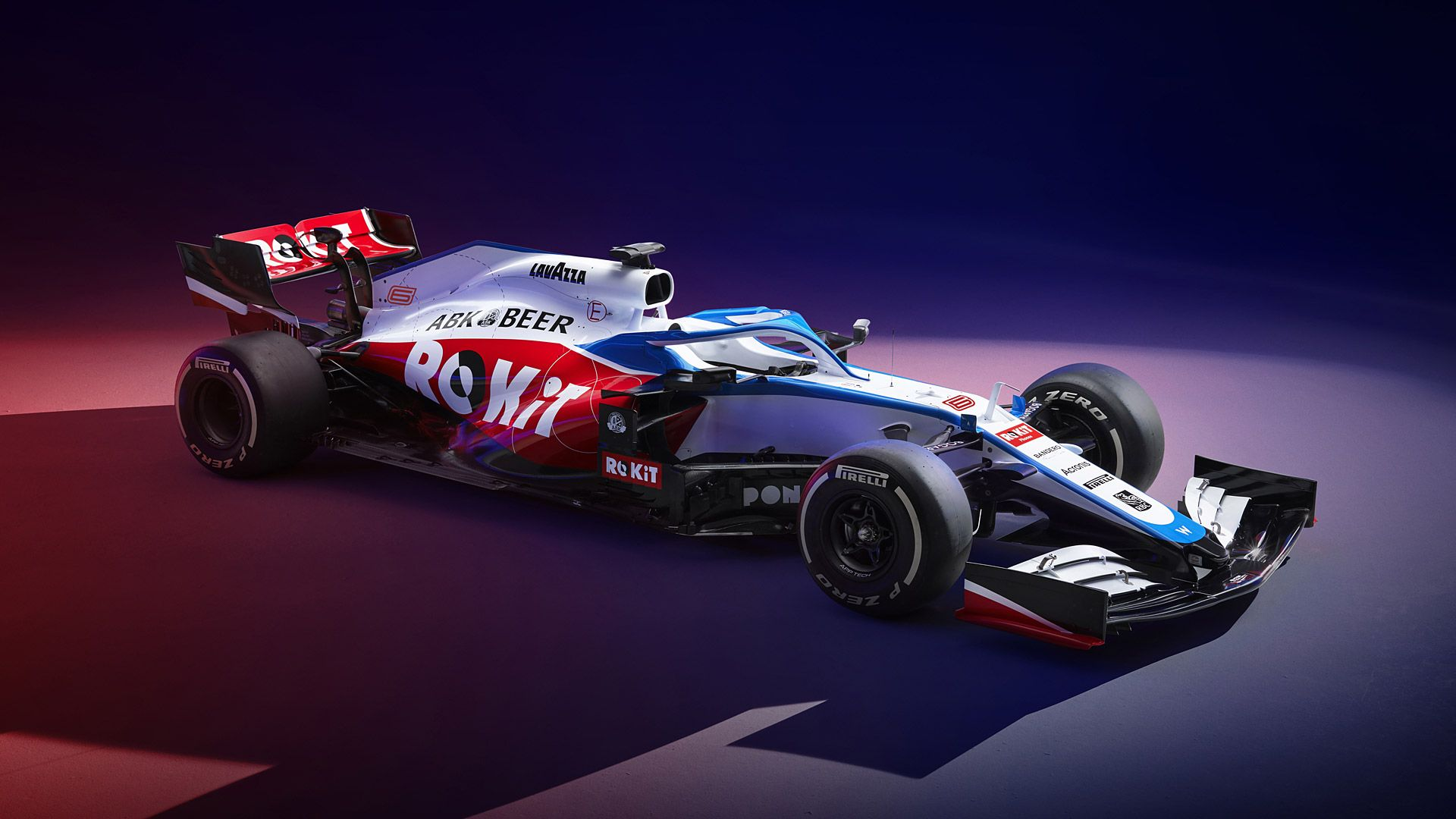 Williams Racing Zoom Background