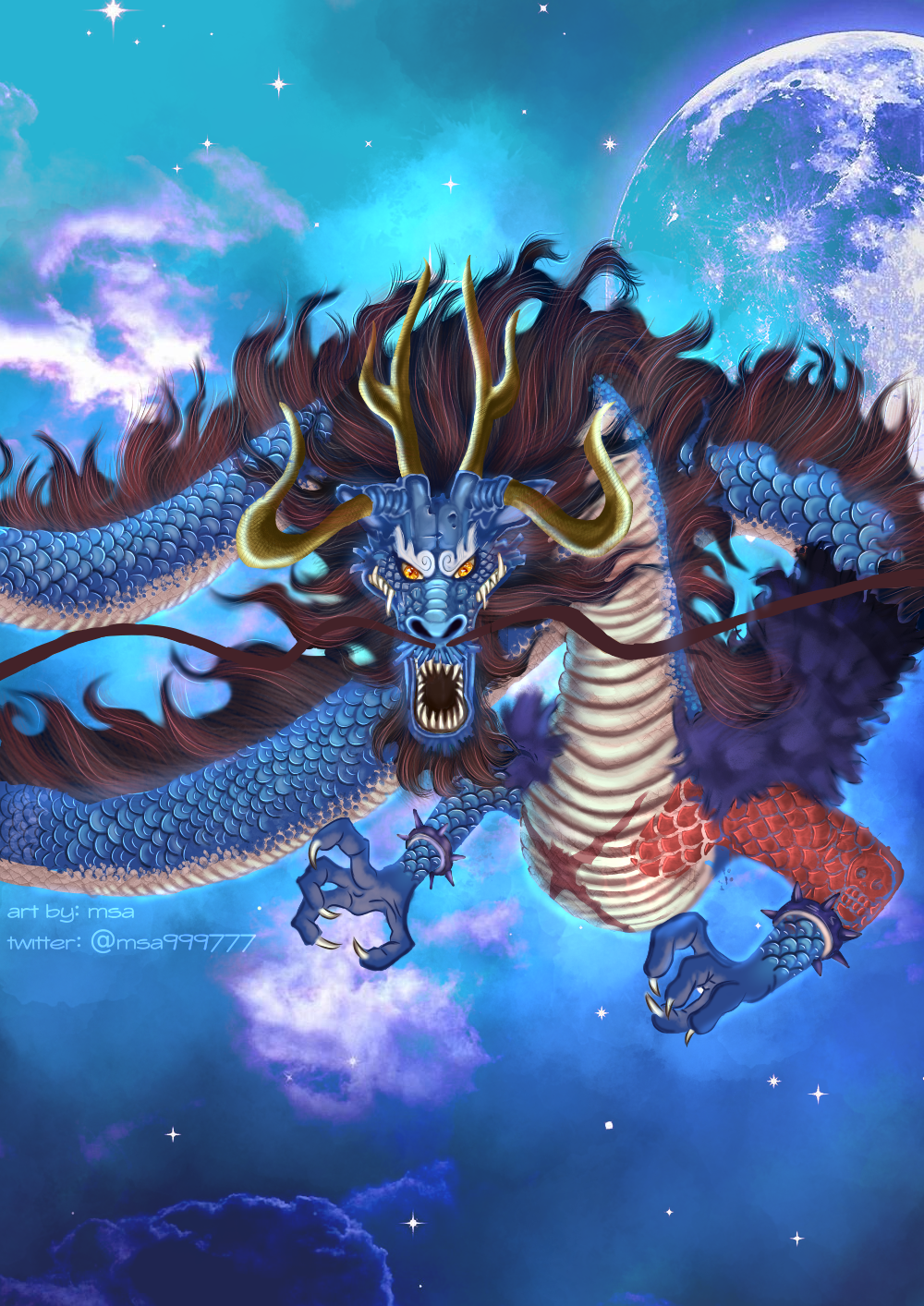 Kaido Dragon Wallpapers Wallpaper Cave