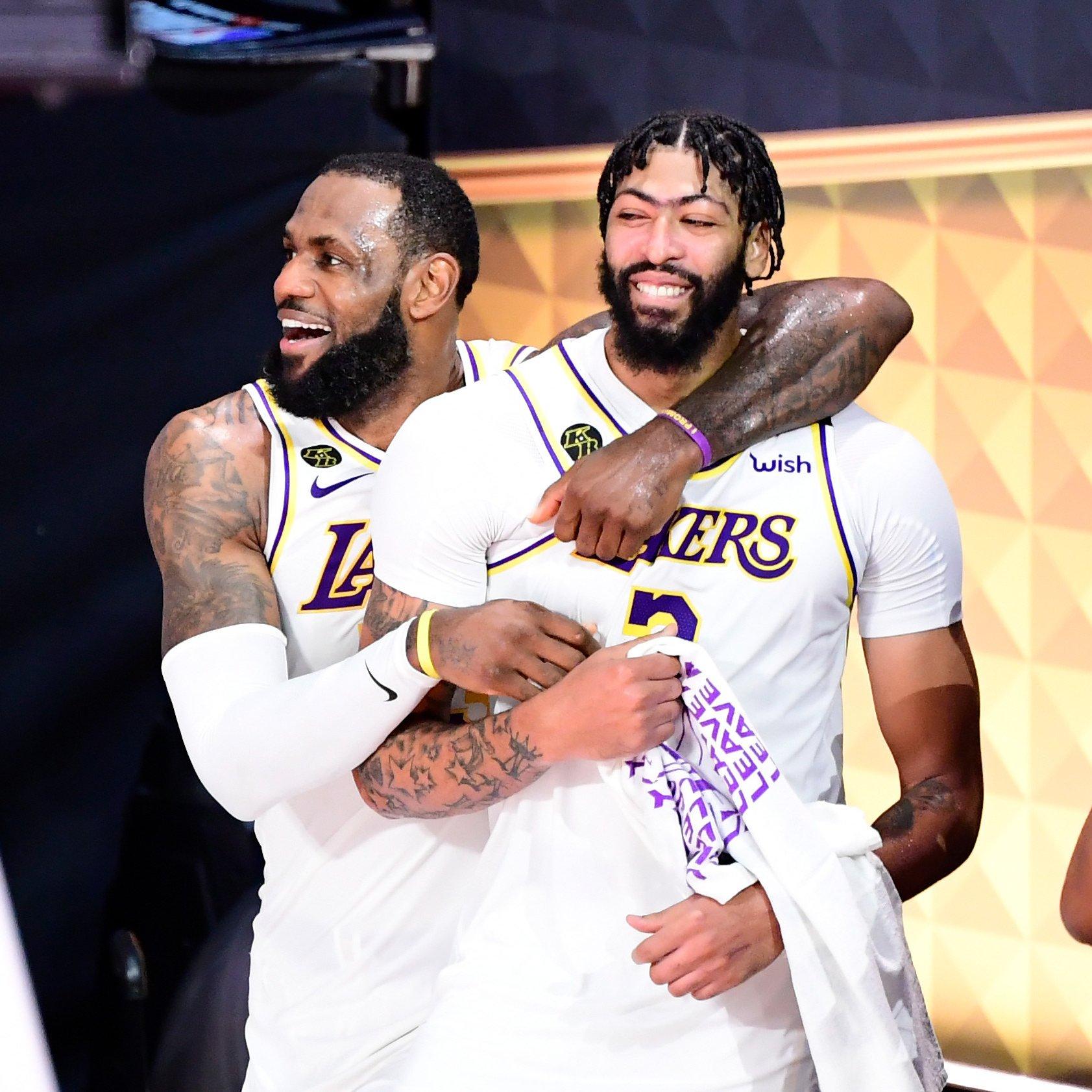 Los Angeles Lakers Nba Champions 2020 Wallpapers Wallpaper Cave