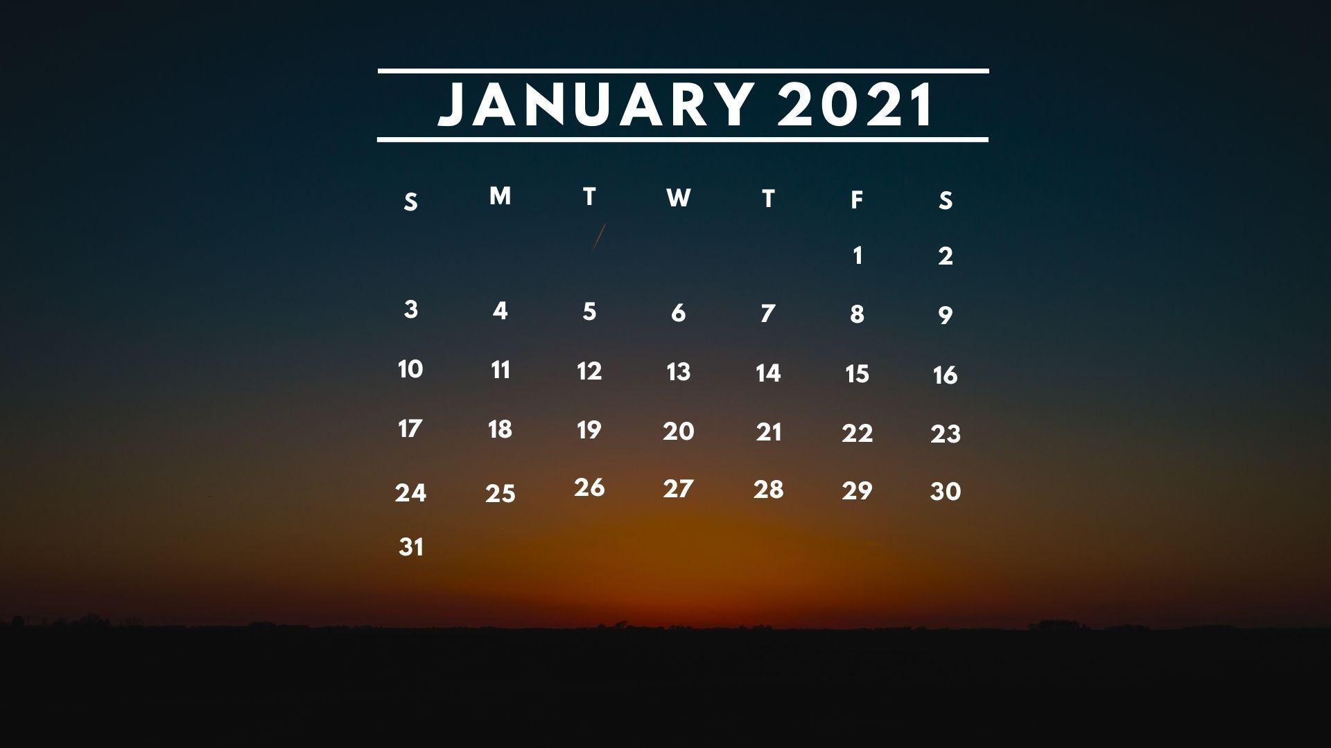 Wallpaper Calendar 2021 Wallpaper