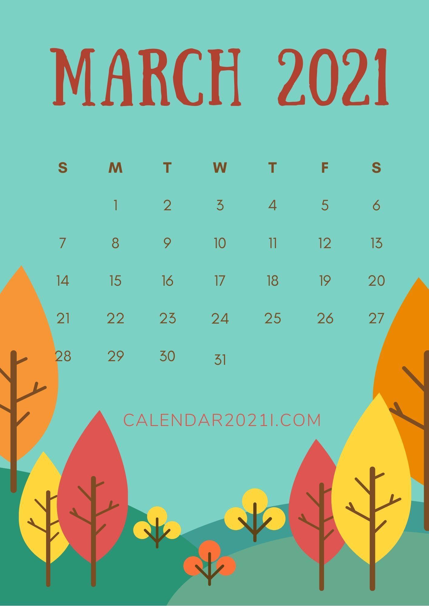 March 2021 Wallpaper Calendar Photos