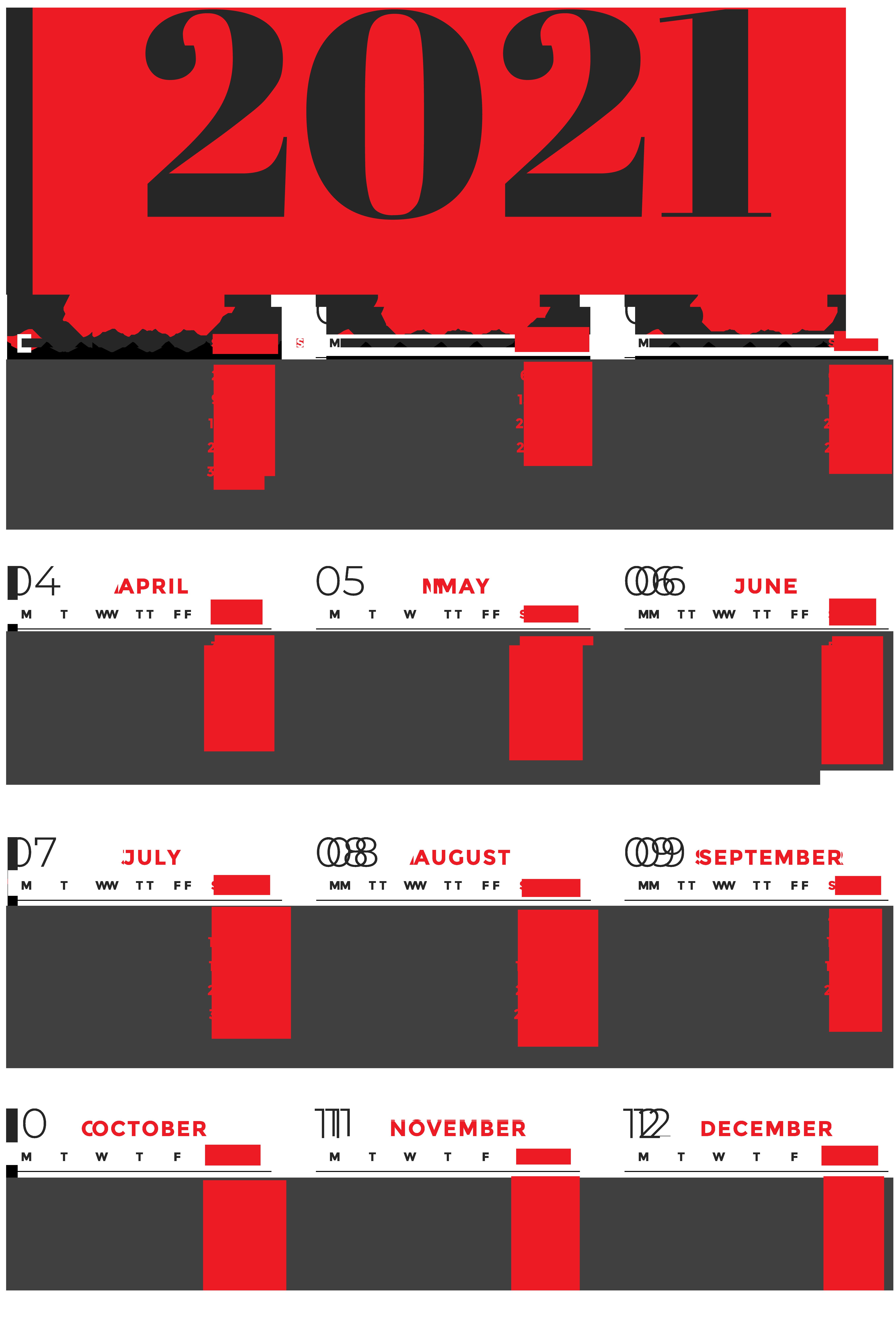 Download Kalender 2021 Hd Aesthetic : Kalender 2021 ...