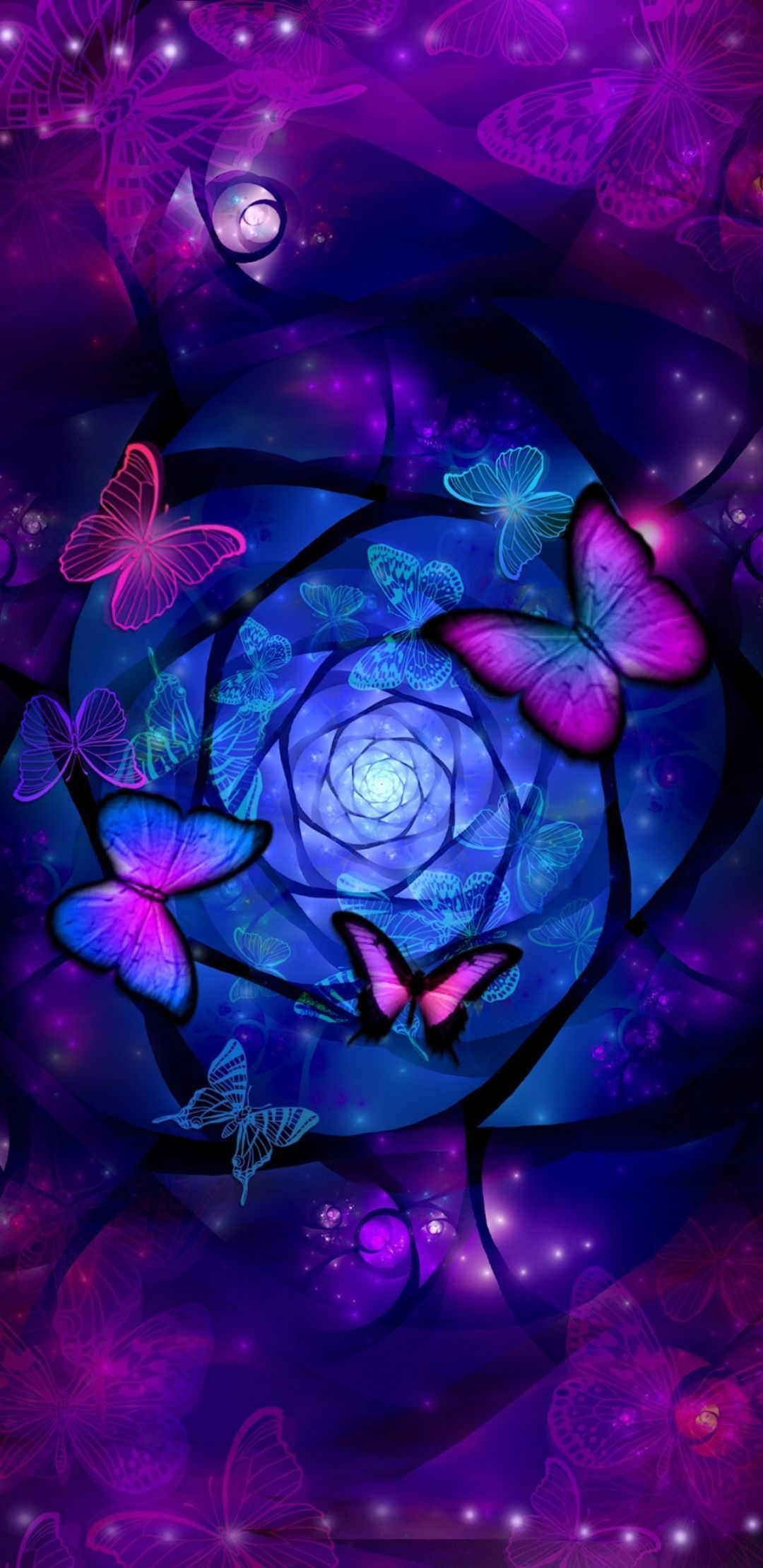 Galaxy Butterfly Wallpapers - Wallpaper Cave