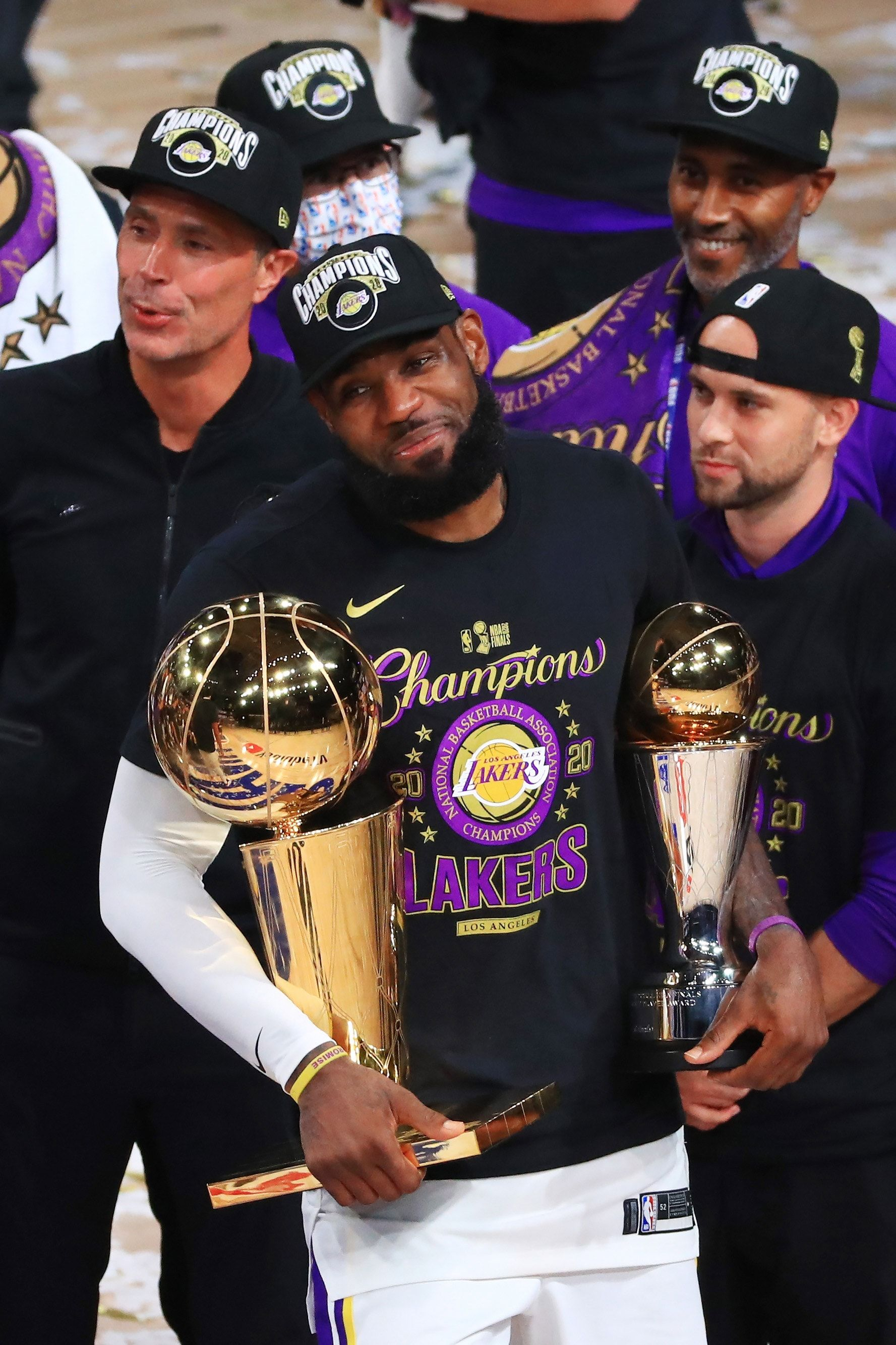 Los Angeles Lakers 2020 NBA Finals Champions Wallpapers ...