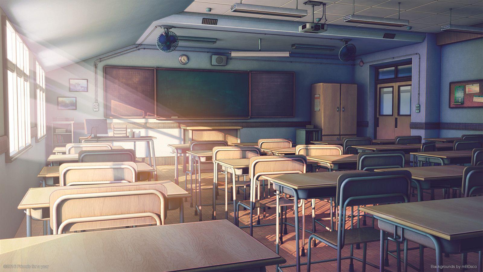 anime school aesthetic wallpapers