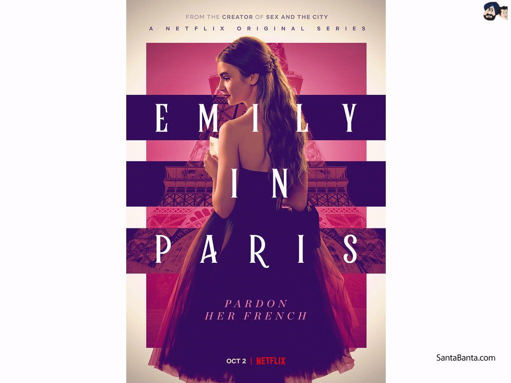 Emily In Paris Zoom Background