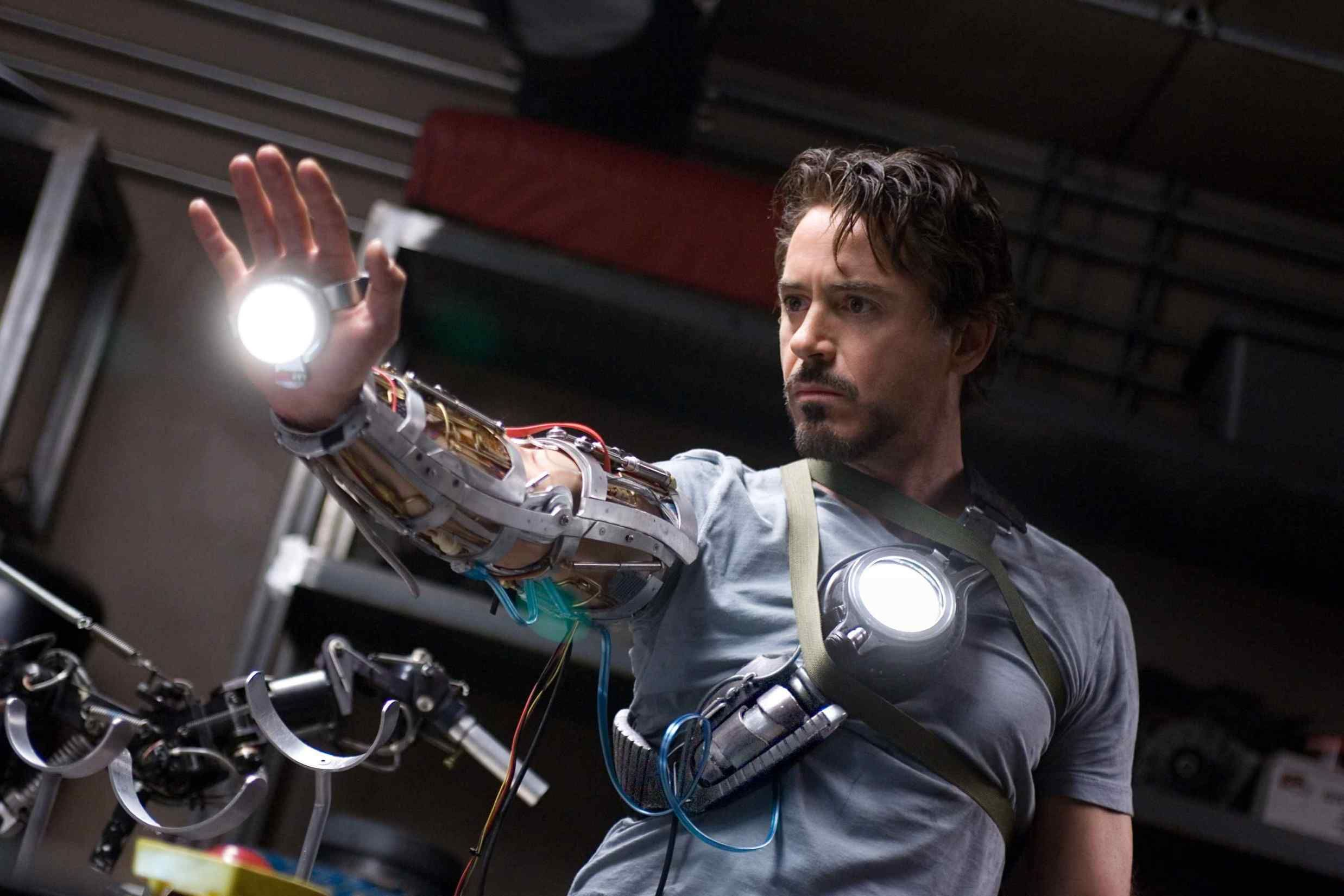 The original wallpapers image that I ran home and downloaded after seeing Iron Man in 2008. Geek hotness. In his …