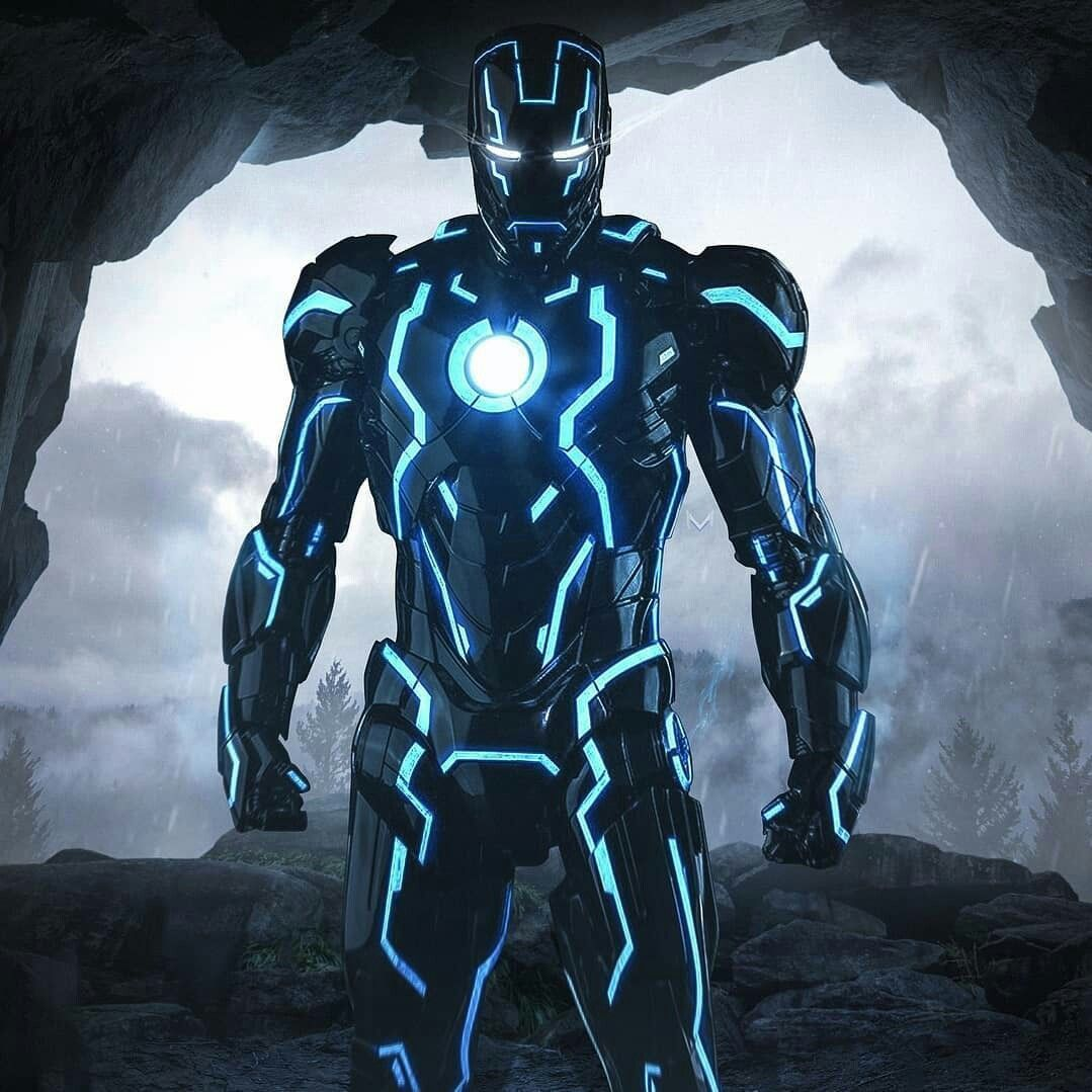 Blue Iron Man Wallpapers