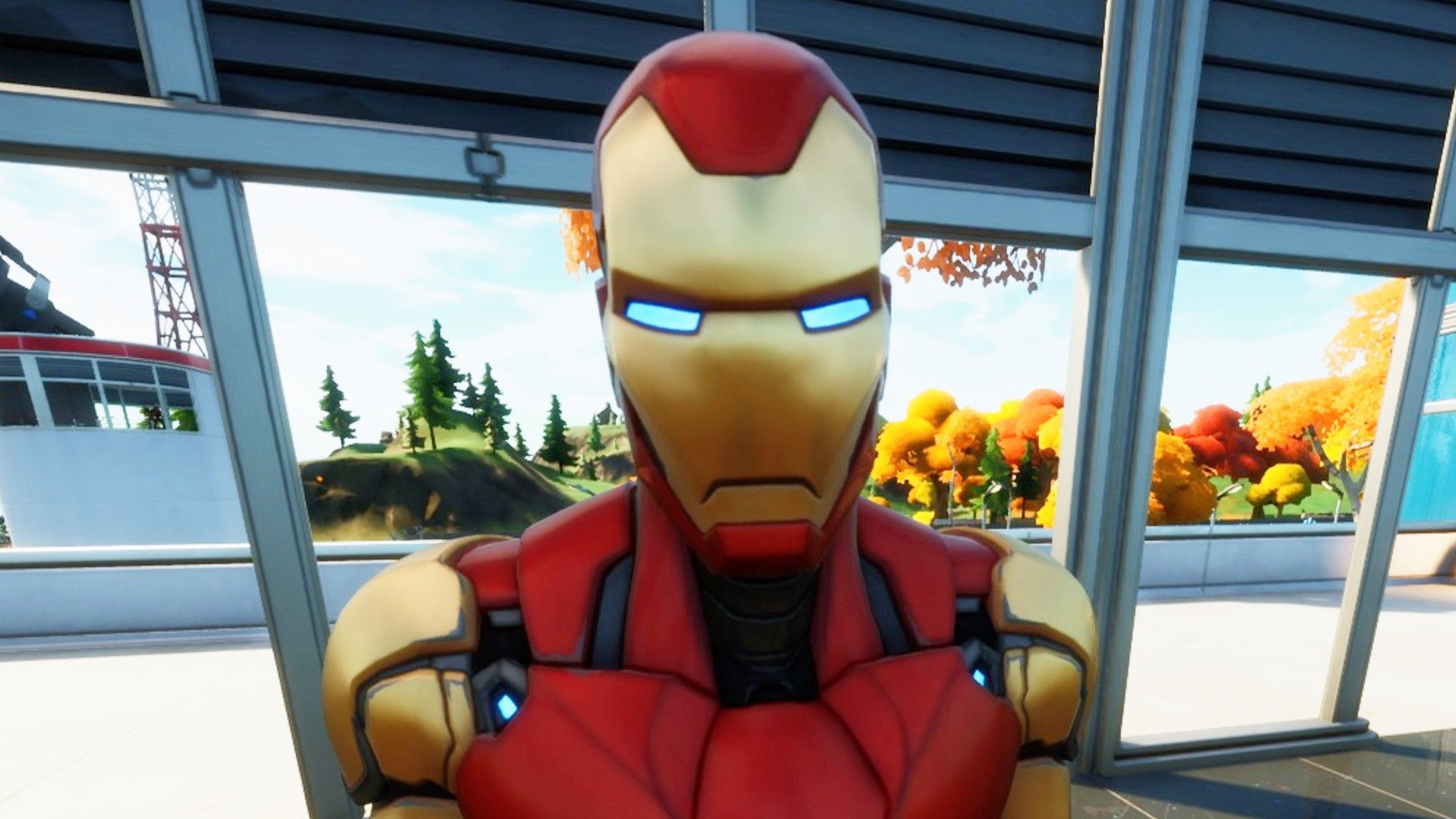 Where to eliminate Iron Man at Stark Industries in Fortnite