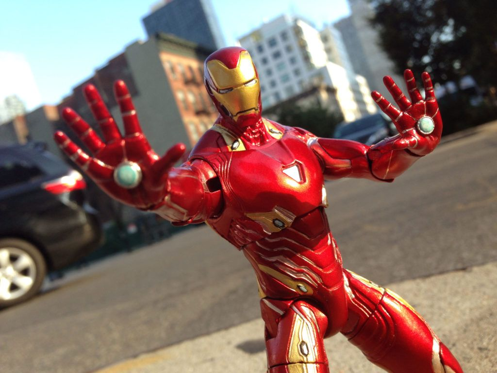 Iron Man MK 50 Joins Disney's Marvel Select Line