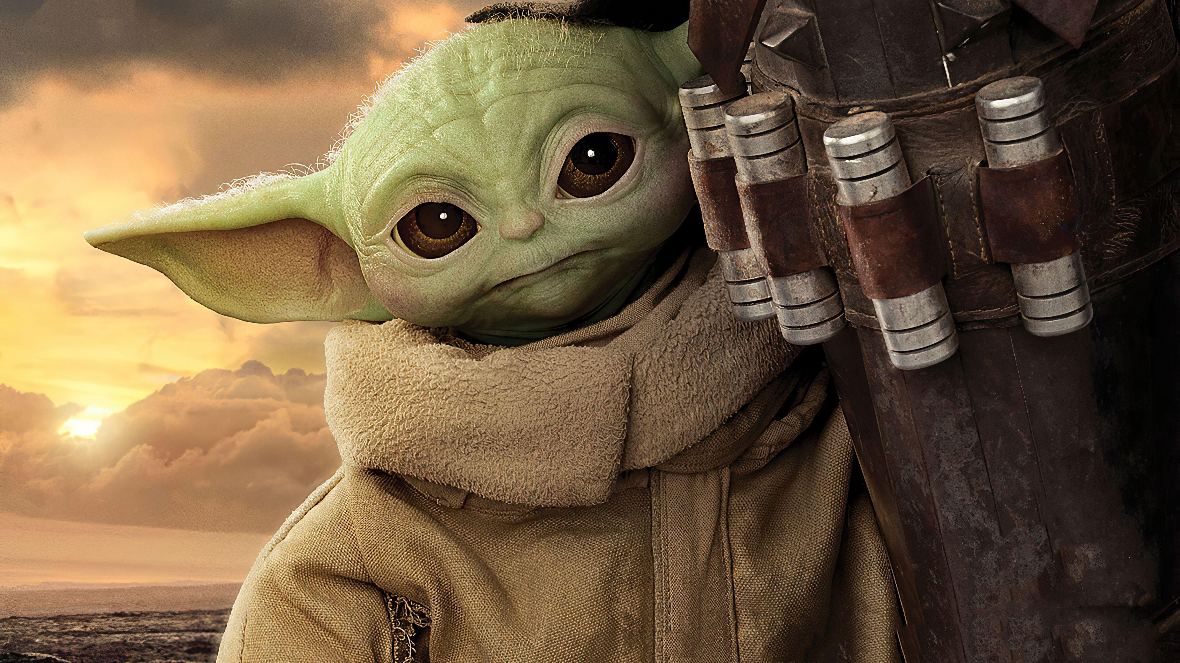 Baby Yoda 4k