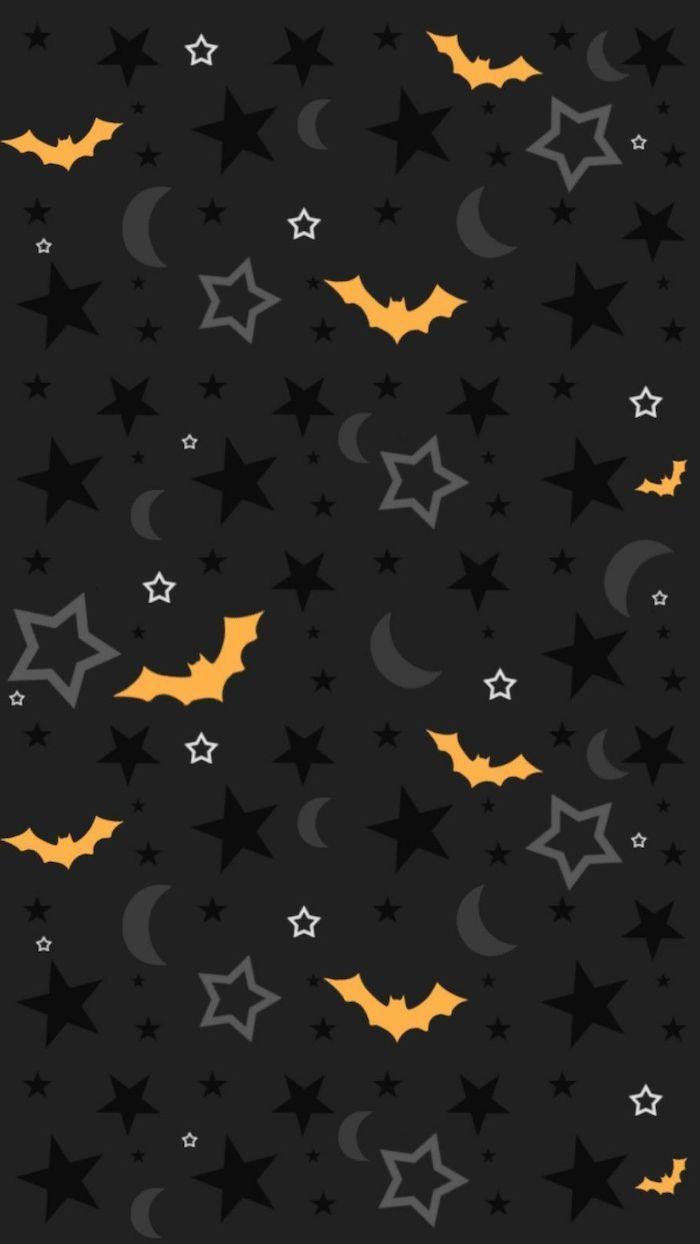 Halloween Cute Patterns Wallpapers Wallpaper Cave