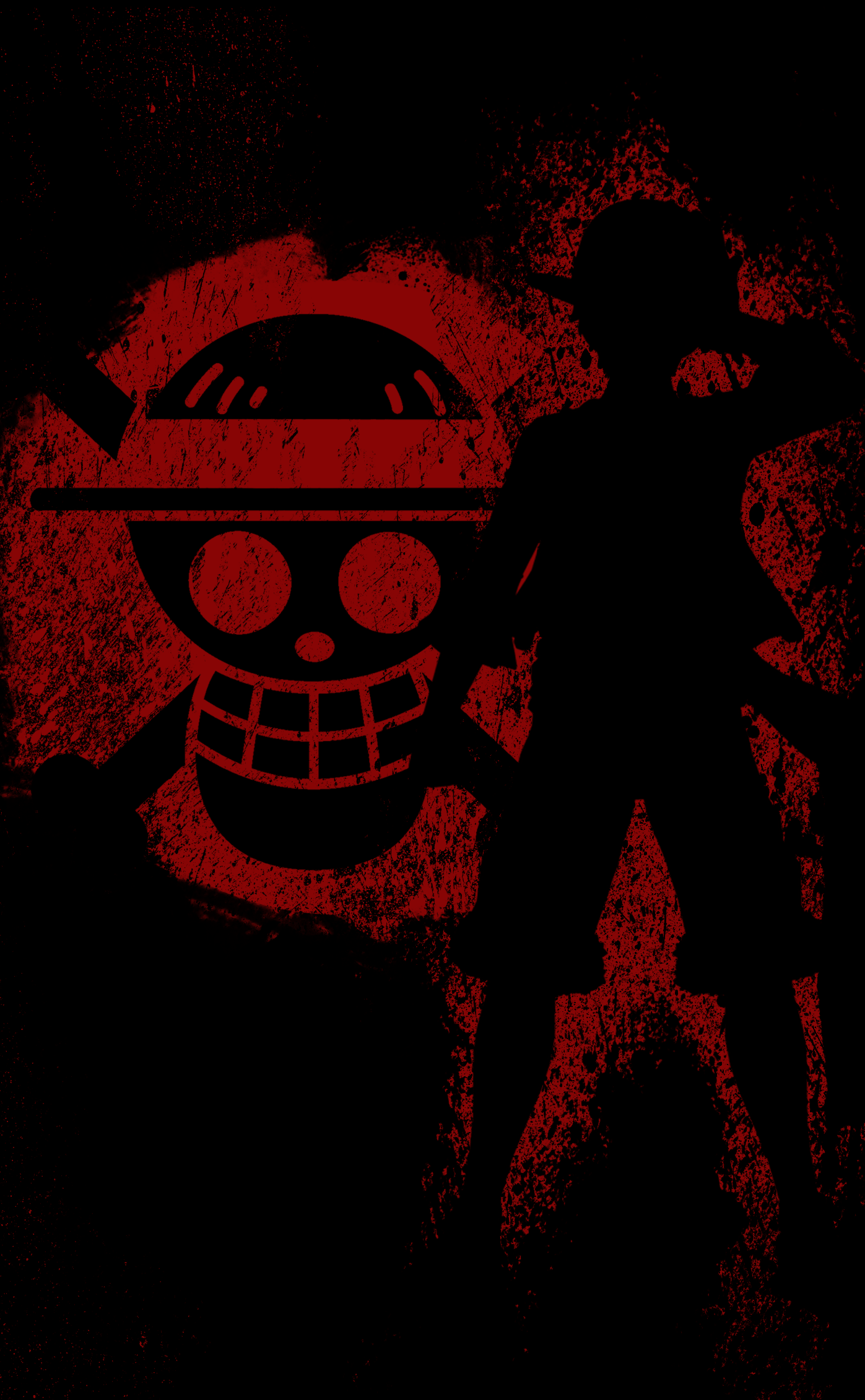 One Piece Black Wallpapers Wallpaper Cave