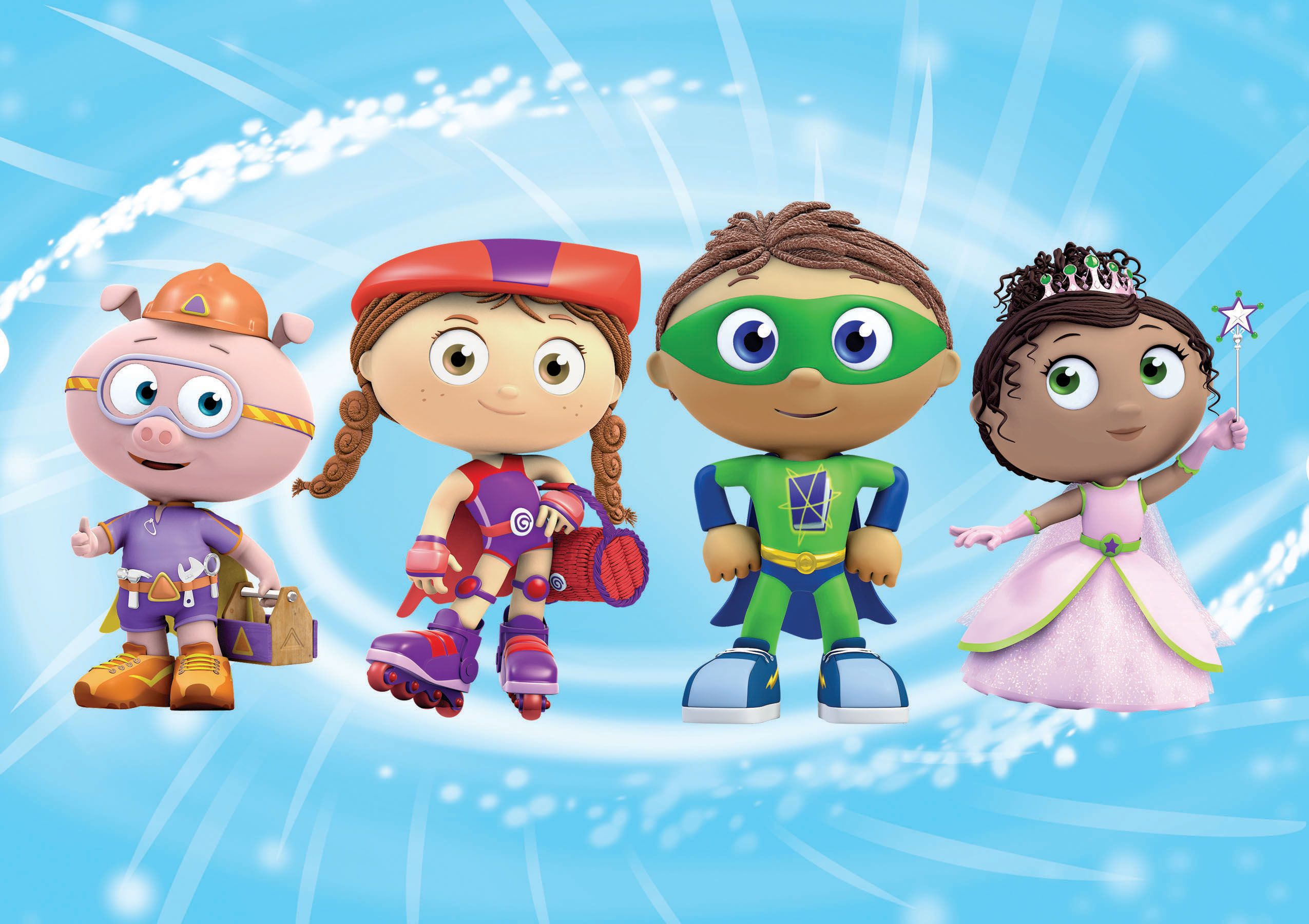 Super Why! Zoom Background