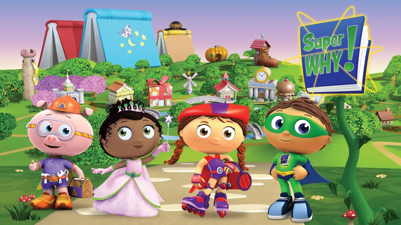 Super Why! Zoom Background 3