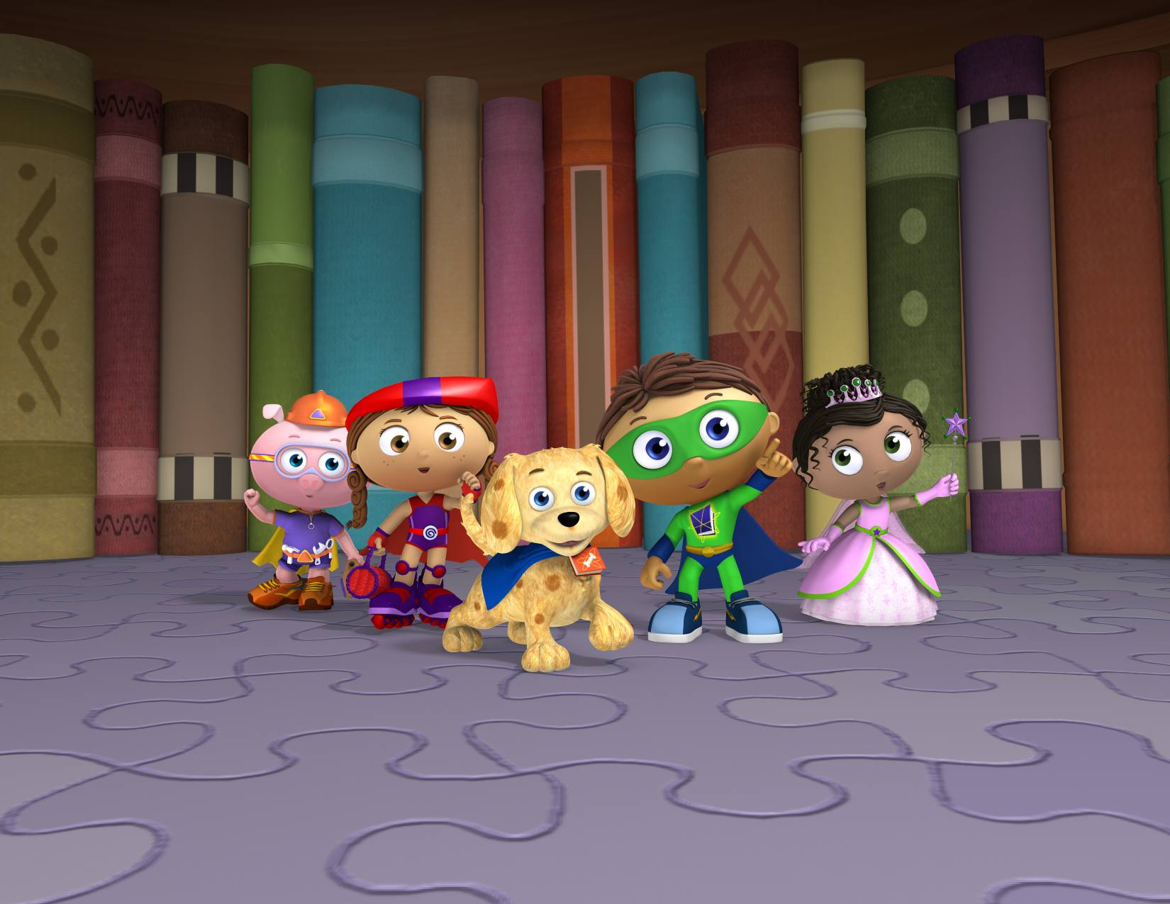 Super Why! Zoom Background 5