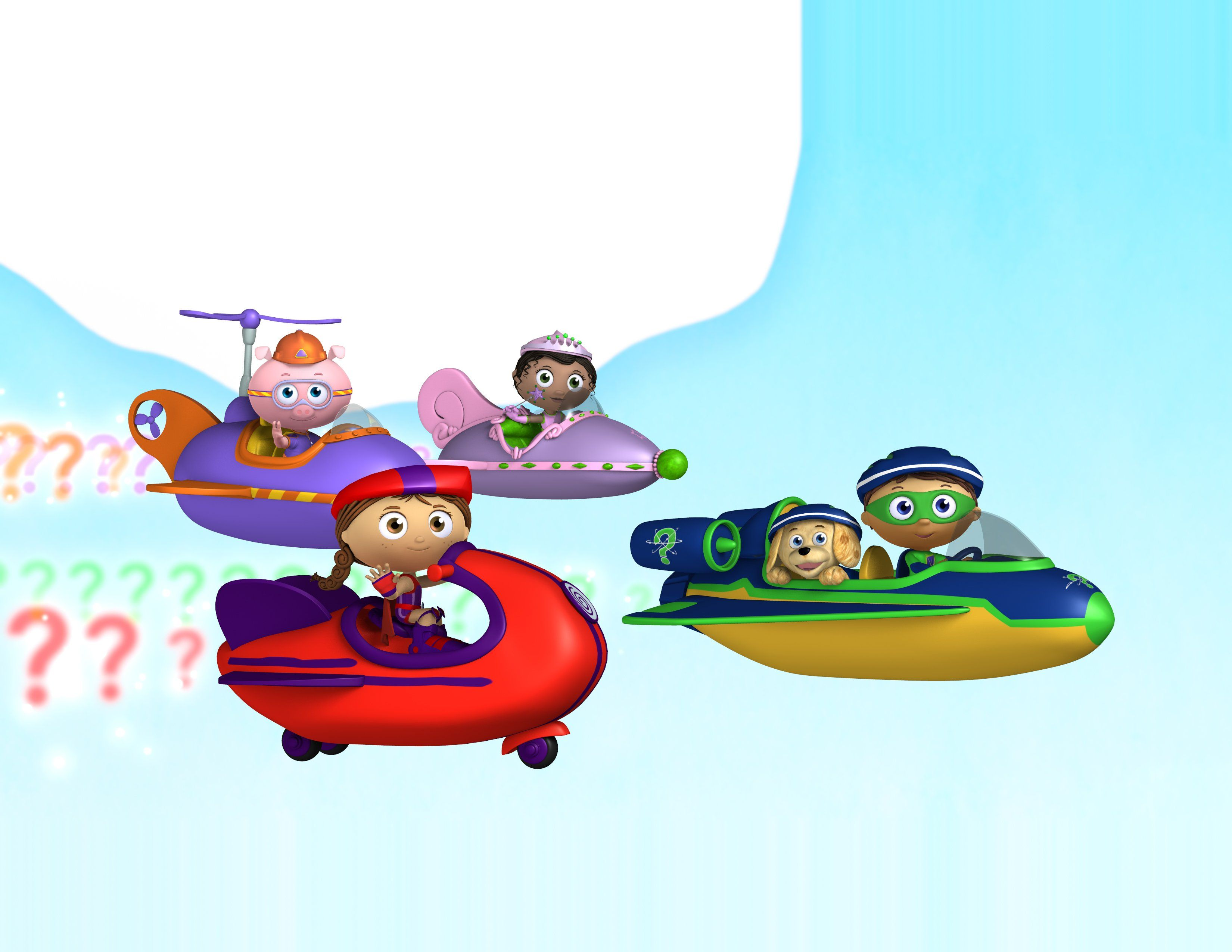 Super Why! Zoom Background 6