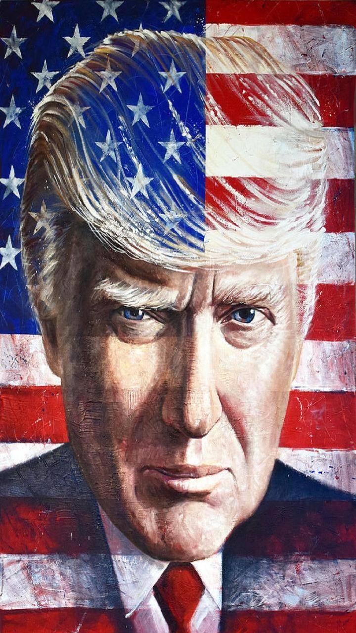 Trump 2020 Flag Wallpapers - Wallpaper Cave