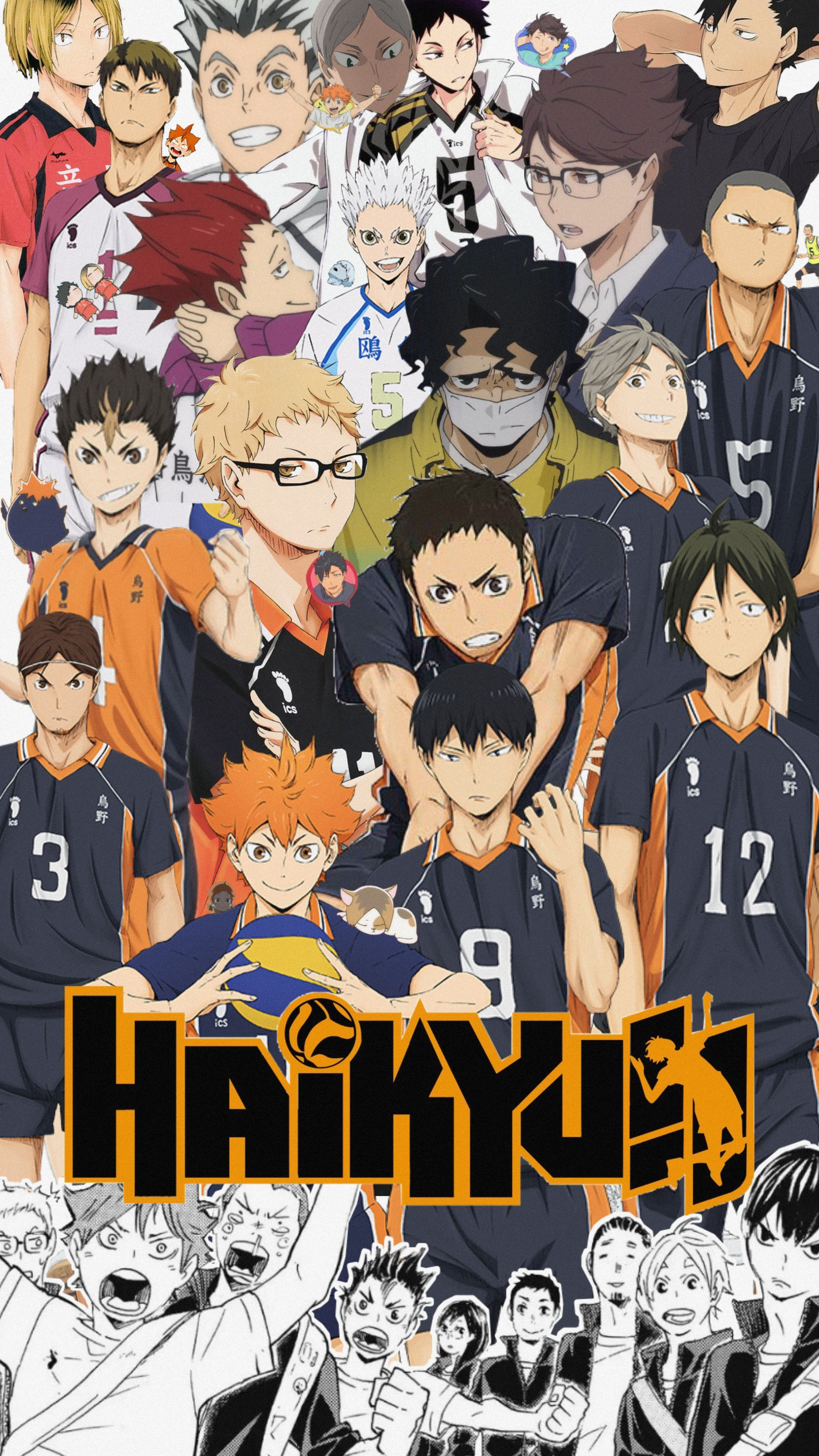 Download wallpaper haikyuu HD - Wallpapers Book - Your #1 Source for free  download HD, 4K & high quality wallpapers