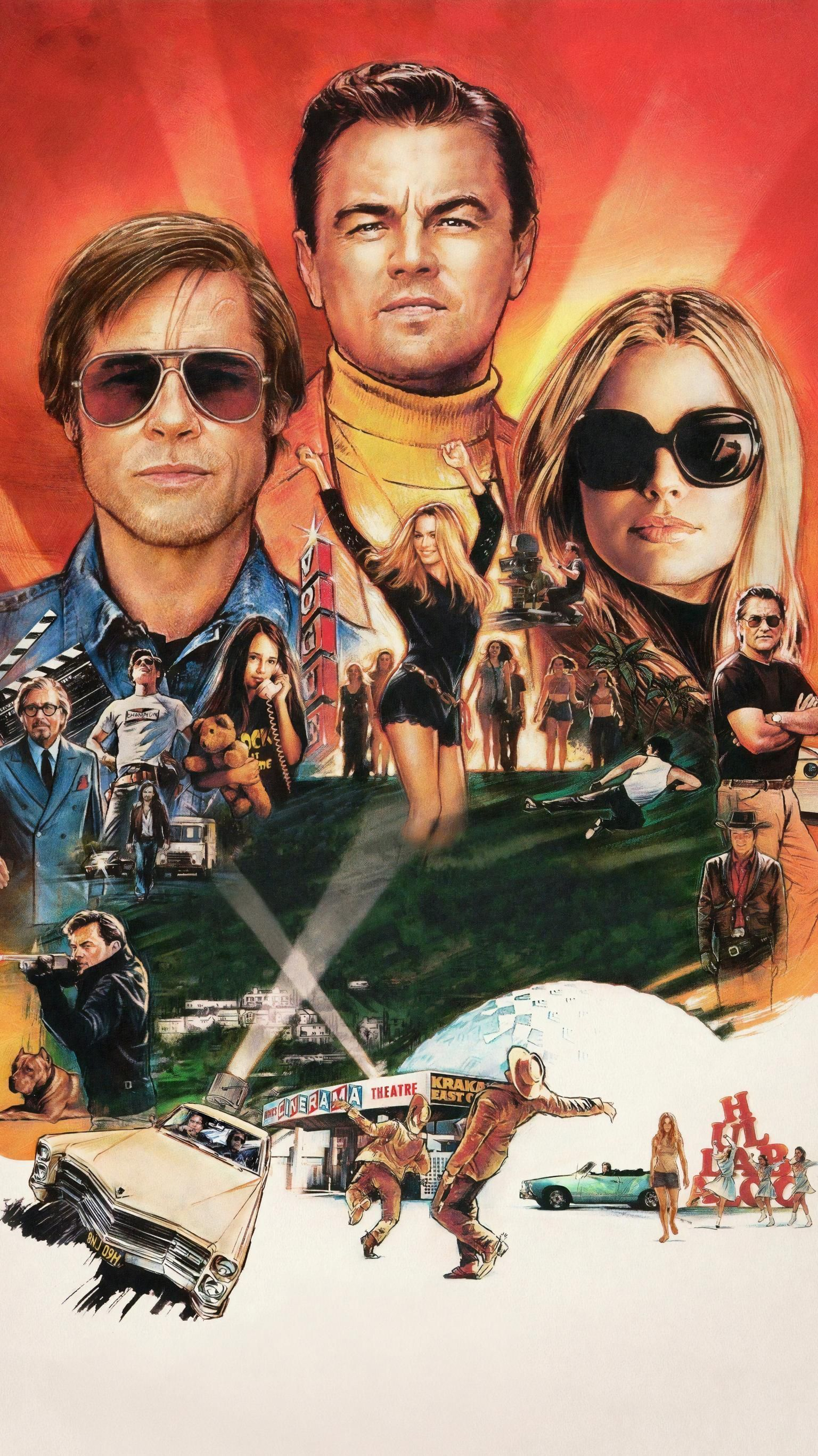 Wonderful Once Upon A Time In Hollywood Wallpaper