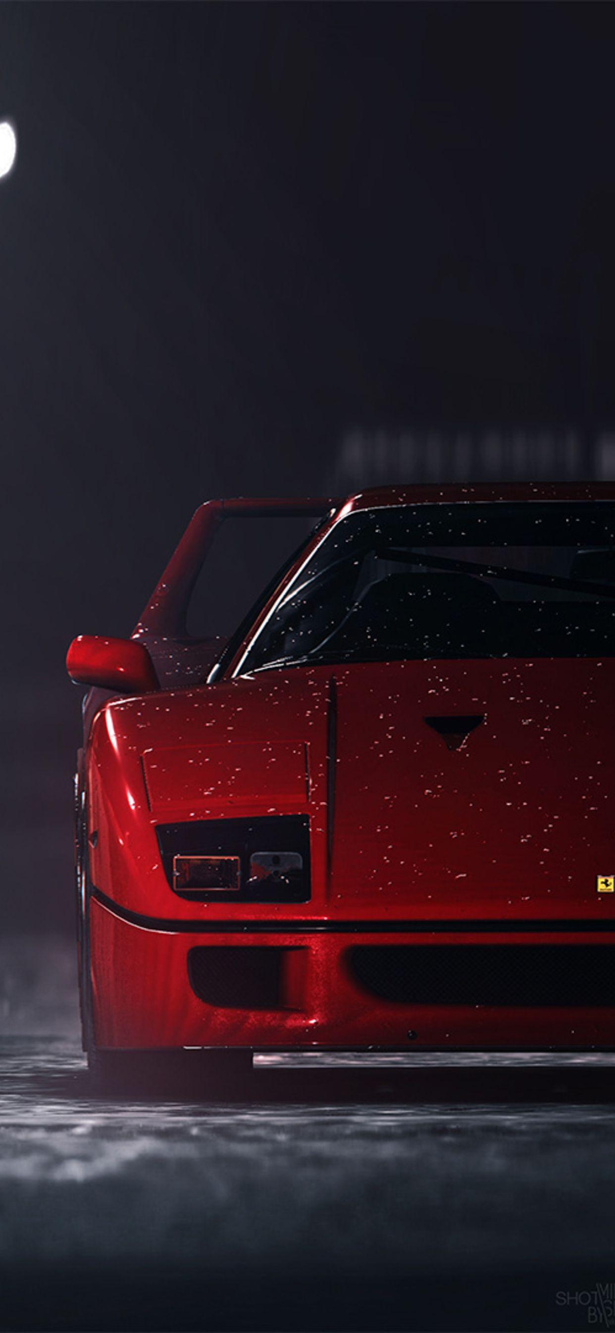 Ferrari F40 Hd Phone Wallpapers Wallpaper Cave